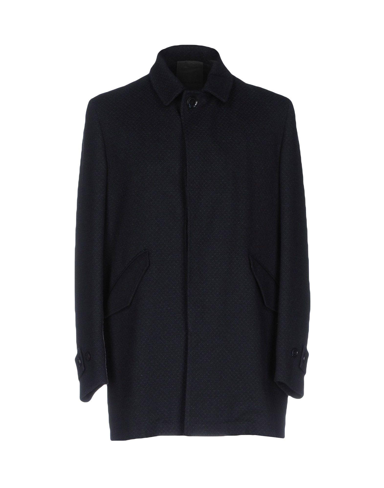Alessandro Dell'acqua Coats In Dark Blue