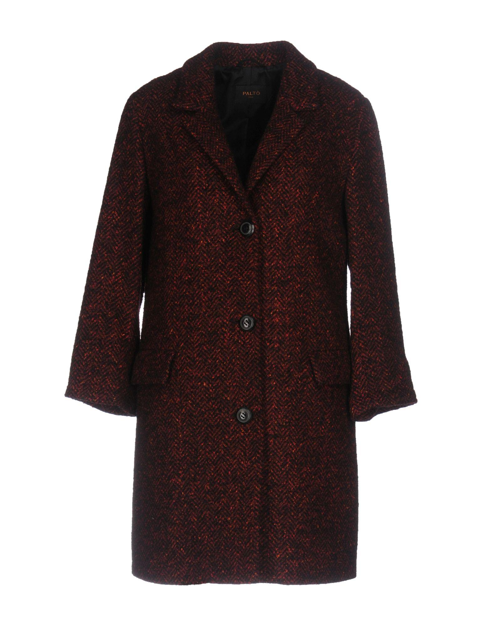 PaltÒ Coats In Maroon