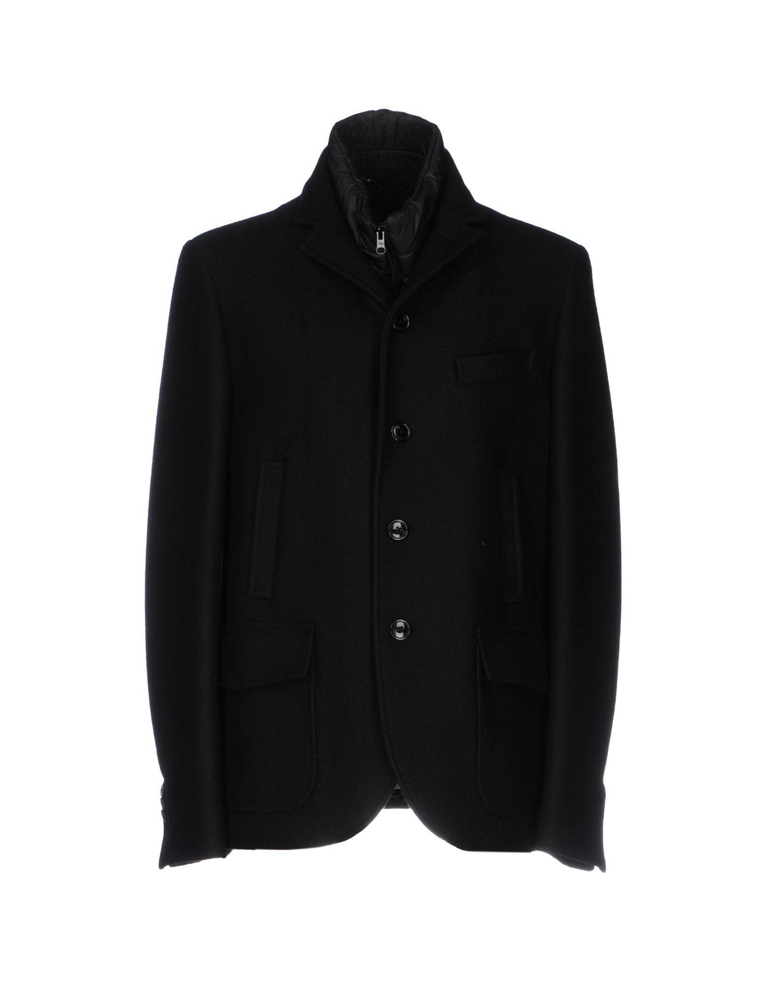 Fay Coat In Black