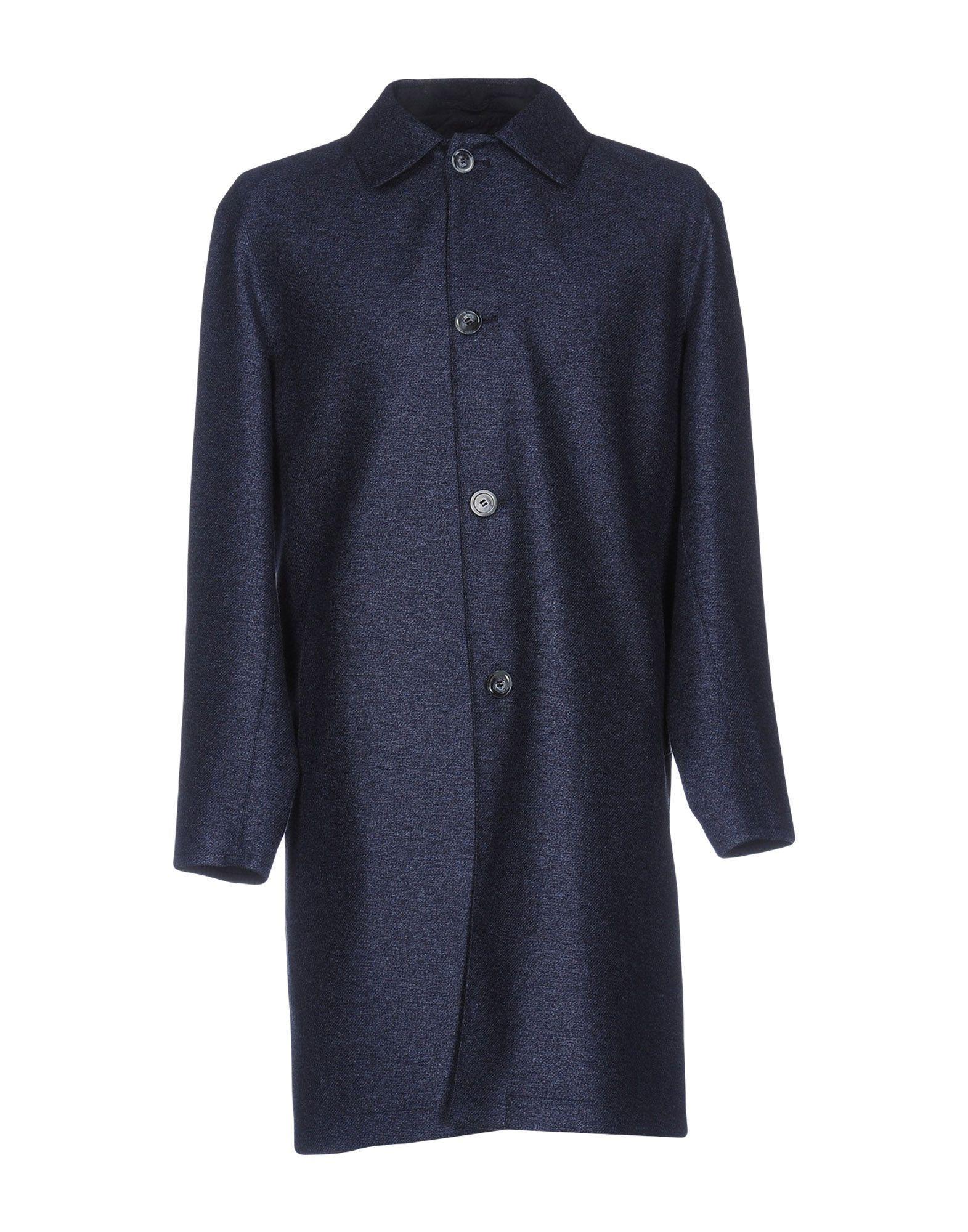 Fedeli Coats In Slate Blue