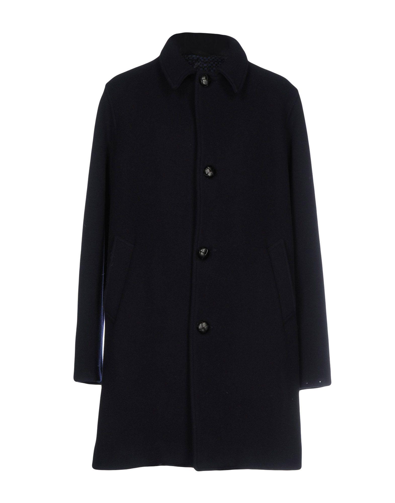 Doppiaa Coat In Dark Blue