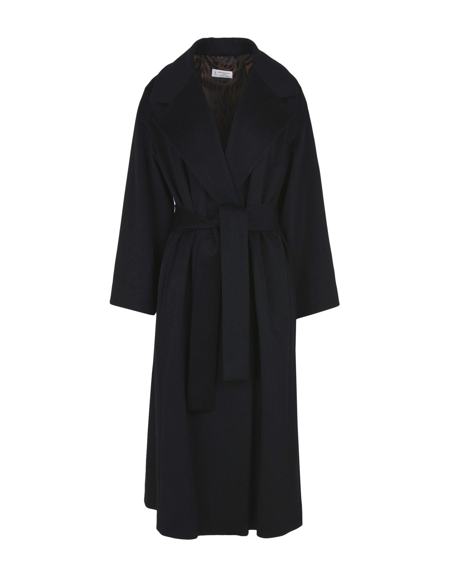 Alberto Biani Coats In Black