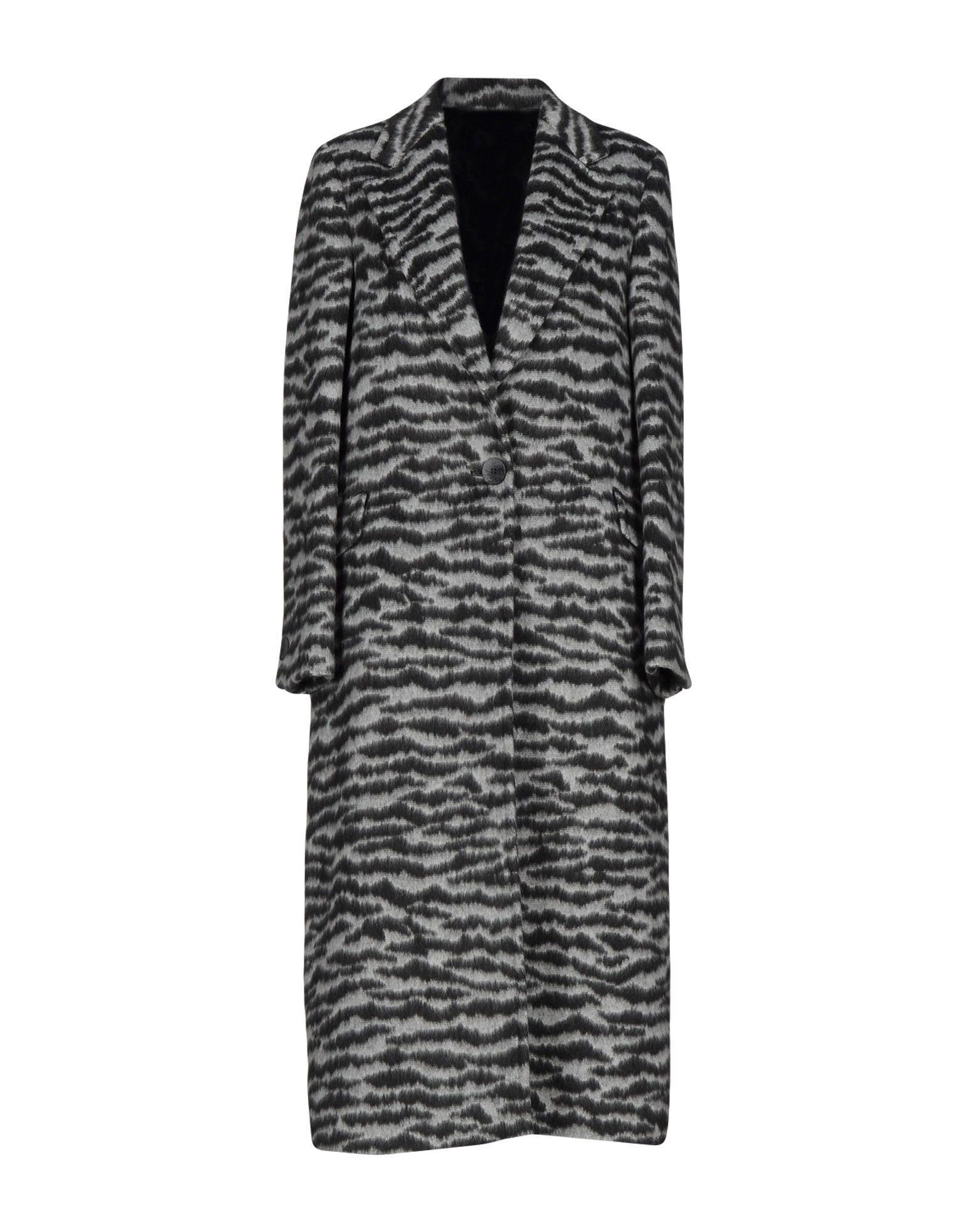 Tagliatore Coats In Grey