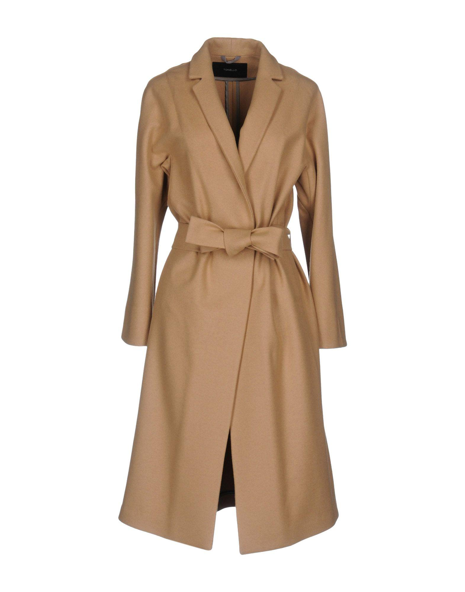 Tonello Coat In Camel