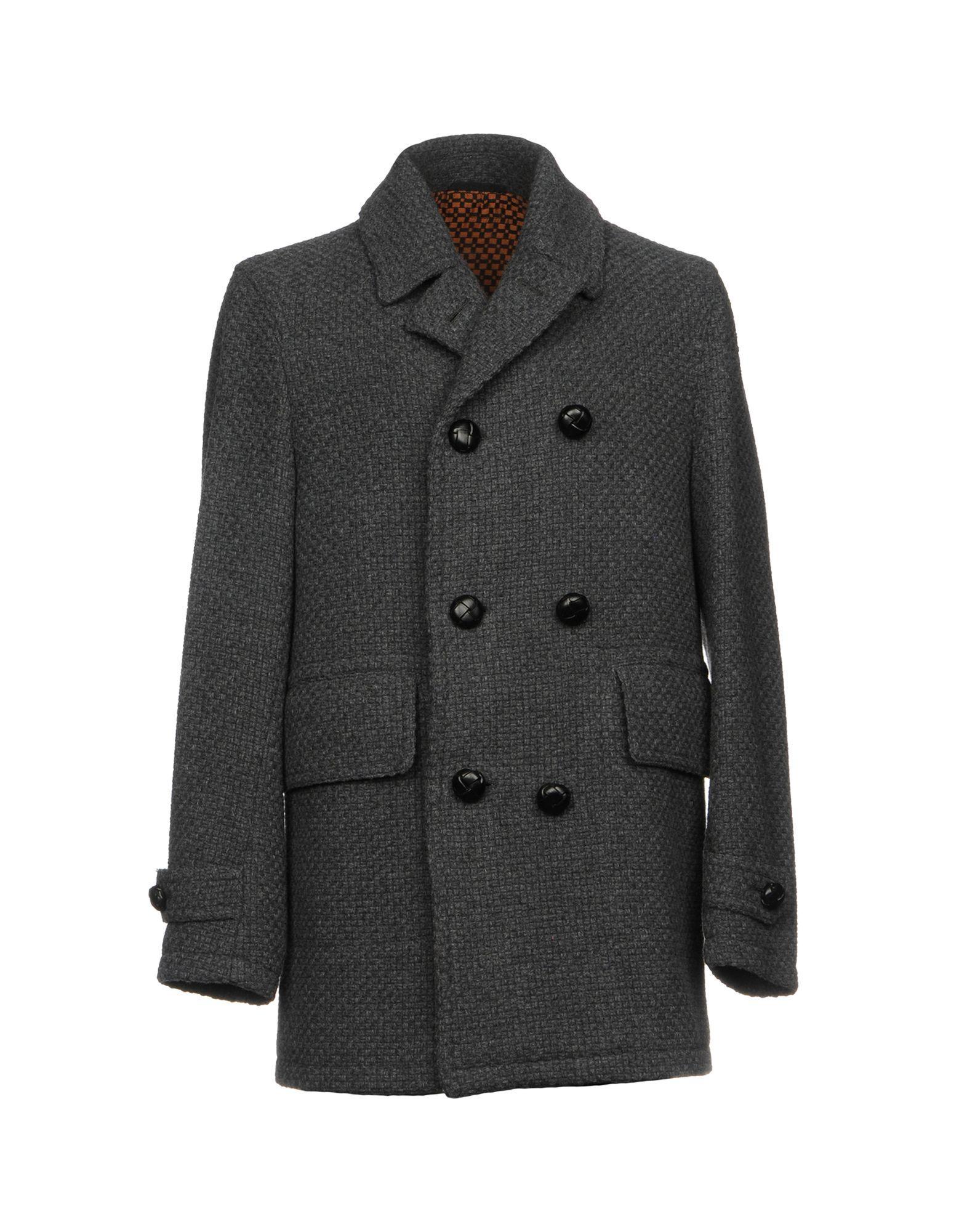 Doppiaa Coat In Grey
