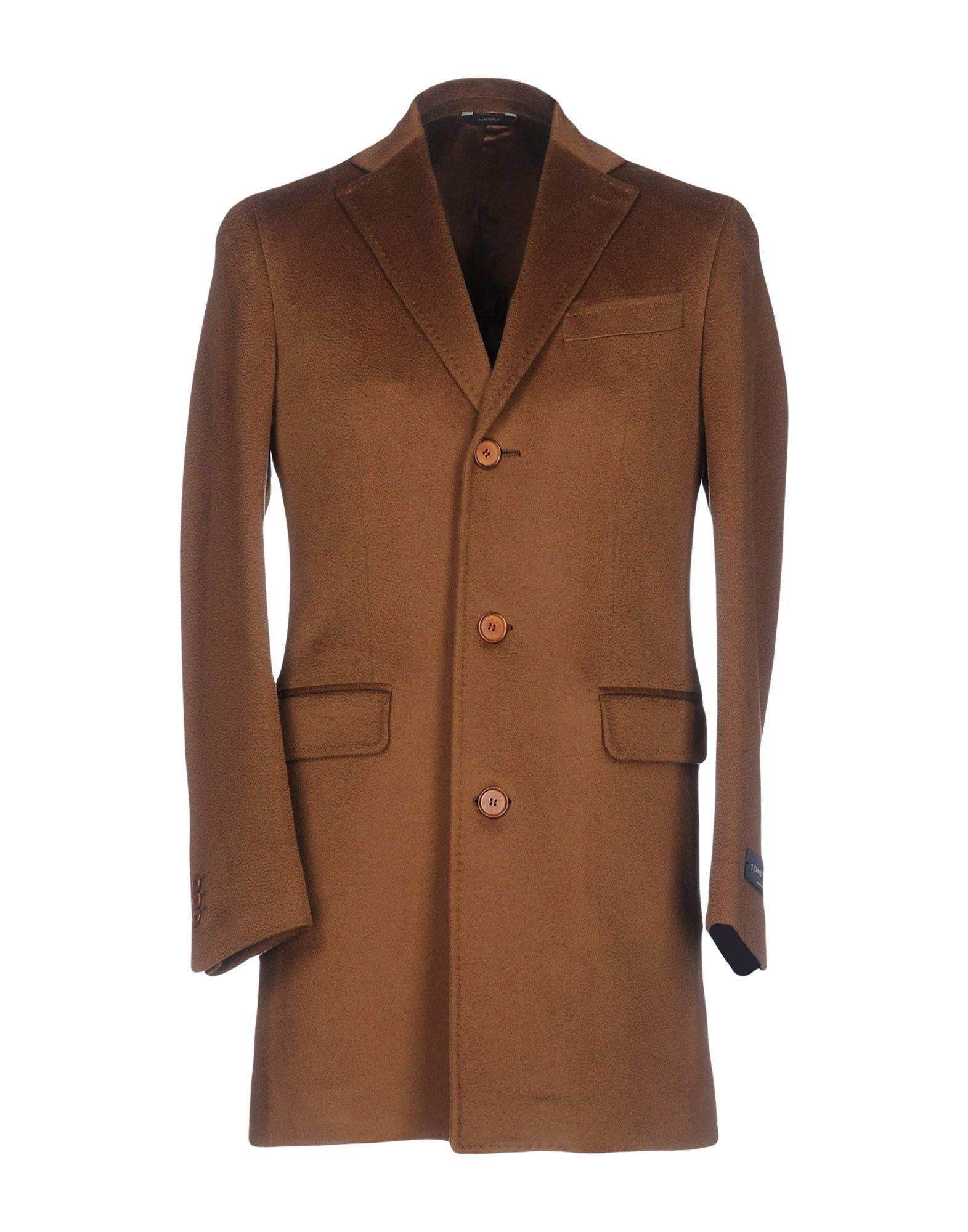 Tombolini Coats In Brown
