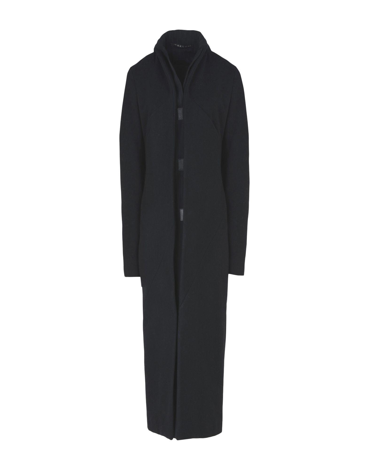 Malloni Coats In Black