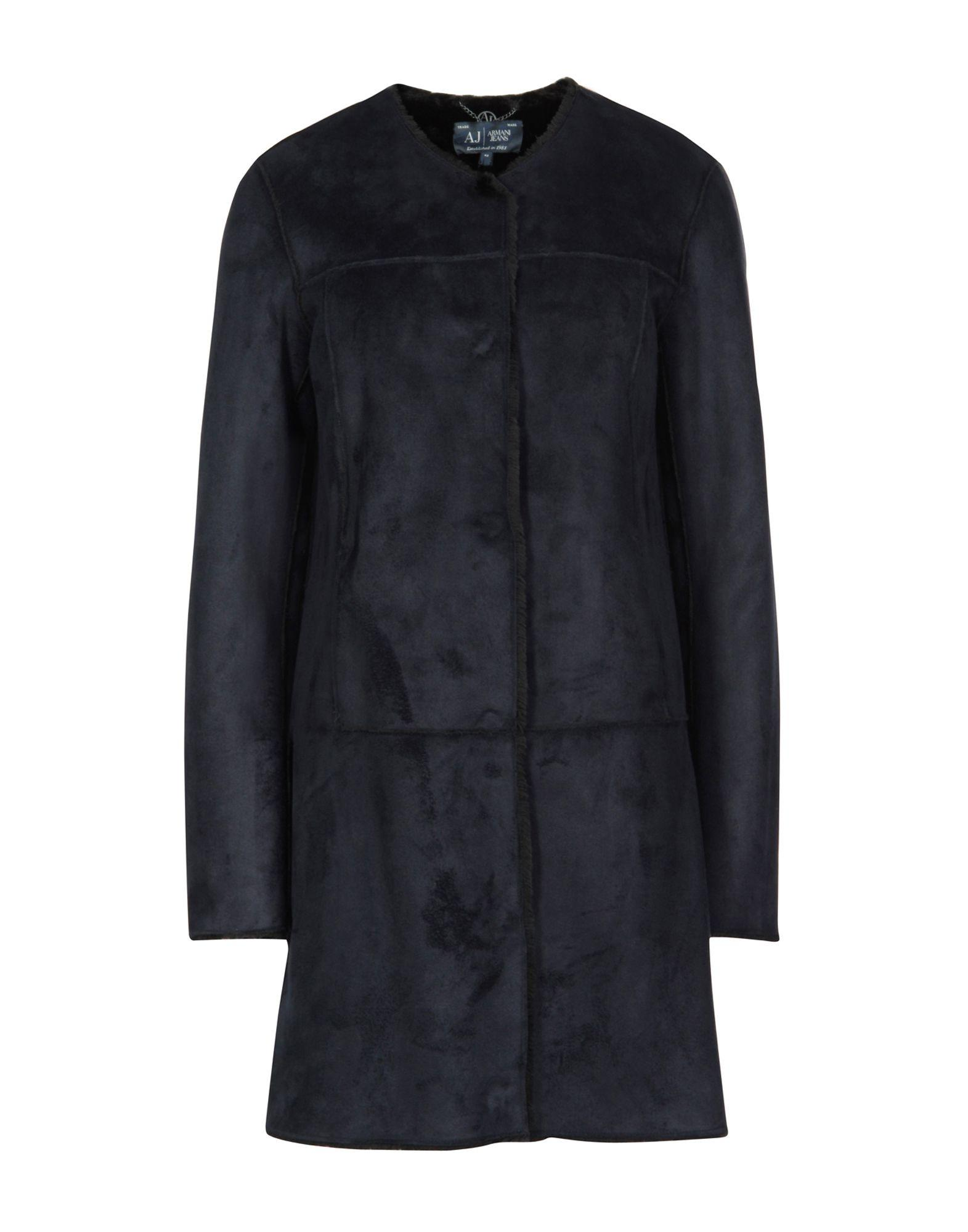 Armani Jeans Coat In Dark Blue