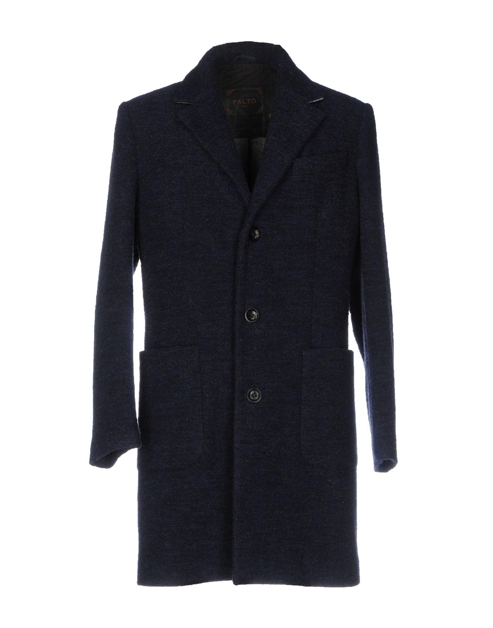 PaltÒ Coats In Dark Blue