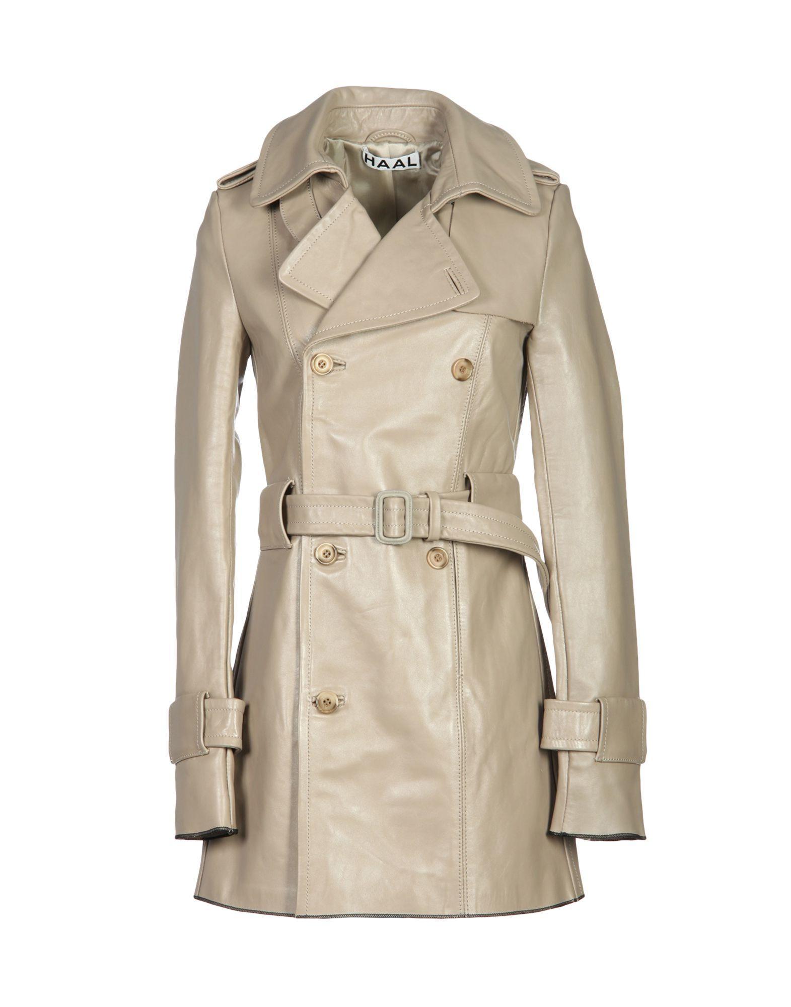 Haal Coats In Light Brown