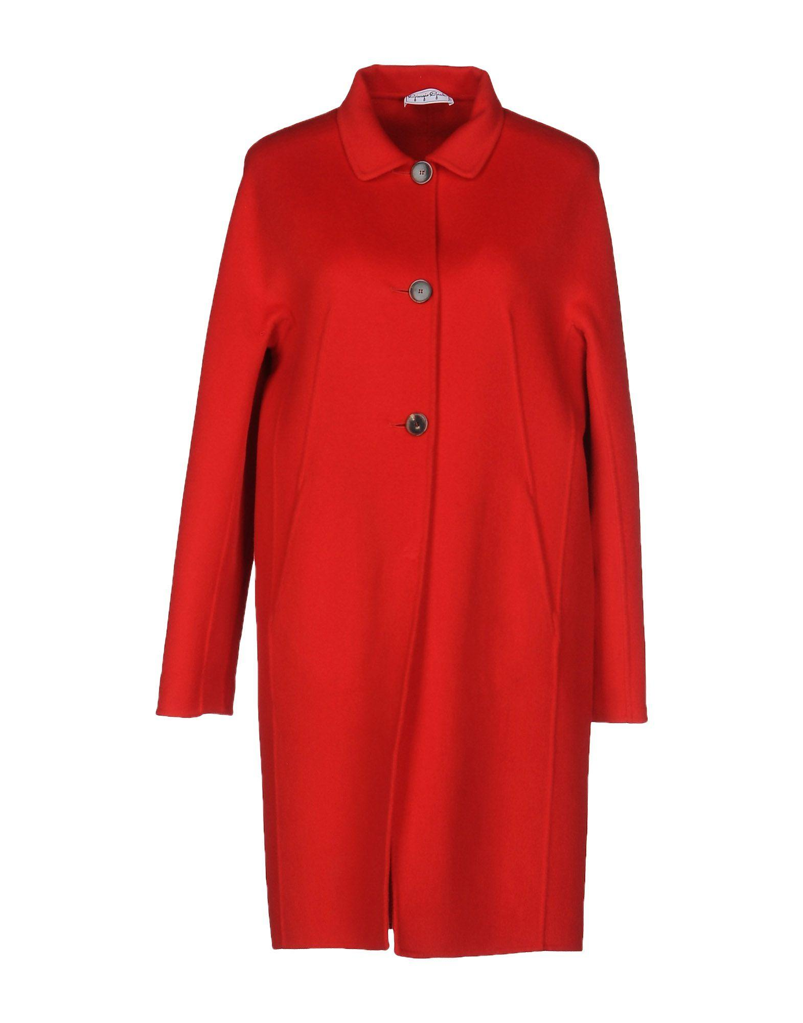 Giorgio Grati Coat In Red