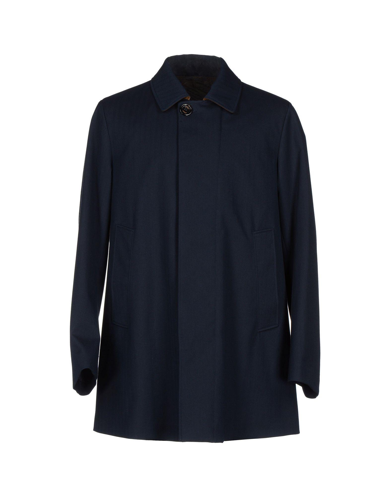 Allegri Coats In Dark Blue