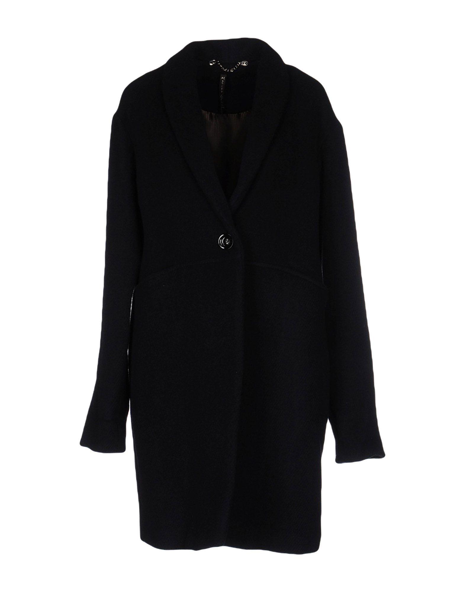 Manila Grace Coat In Dark Blue