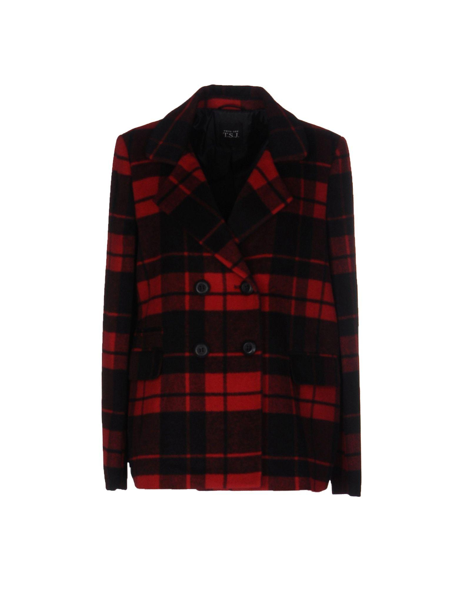 Twinset Coat In Red