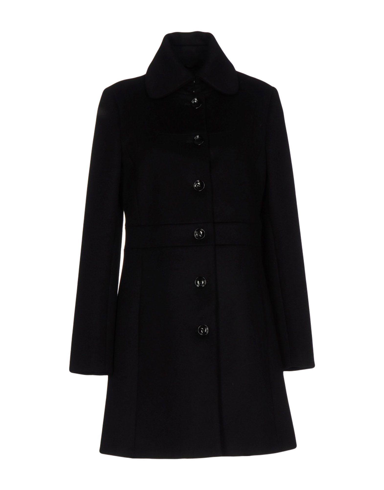 Patrizia Pepe Coat In Black