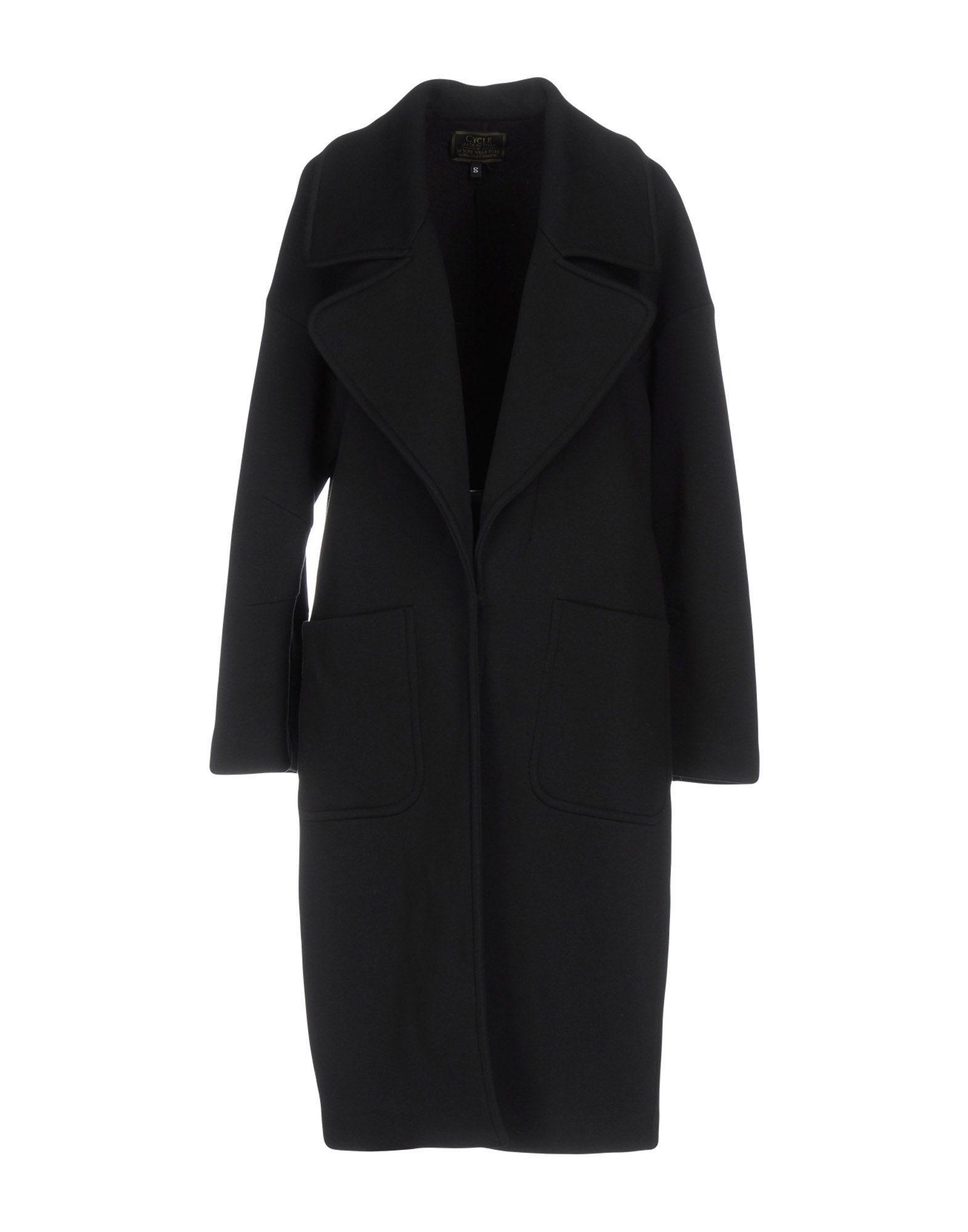 Cycle Coat In Black