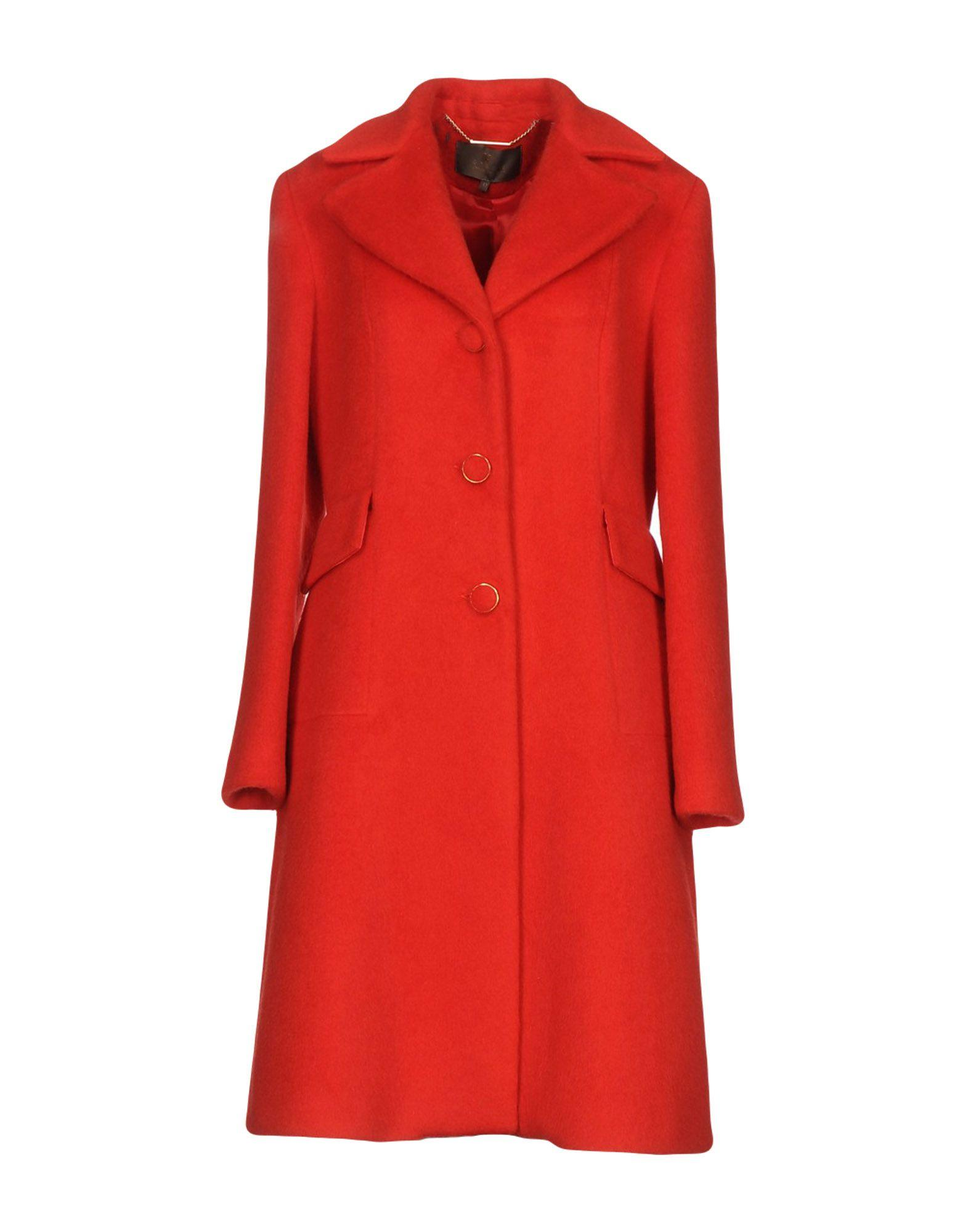Space Style Concept Coats In Red