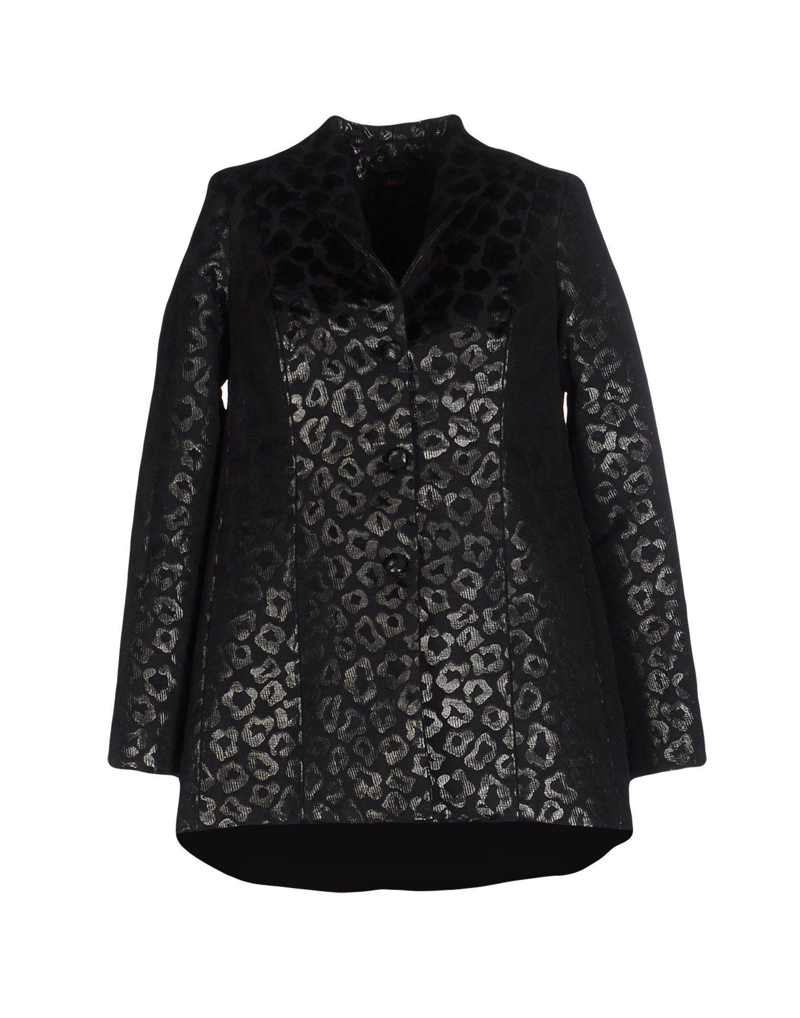 Io Couture Coat In Lead