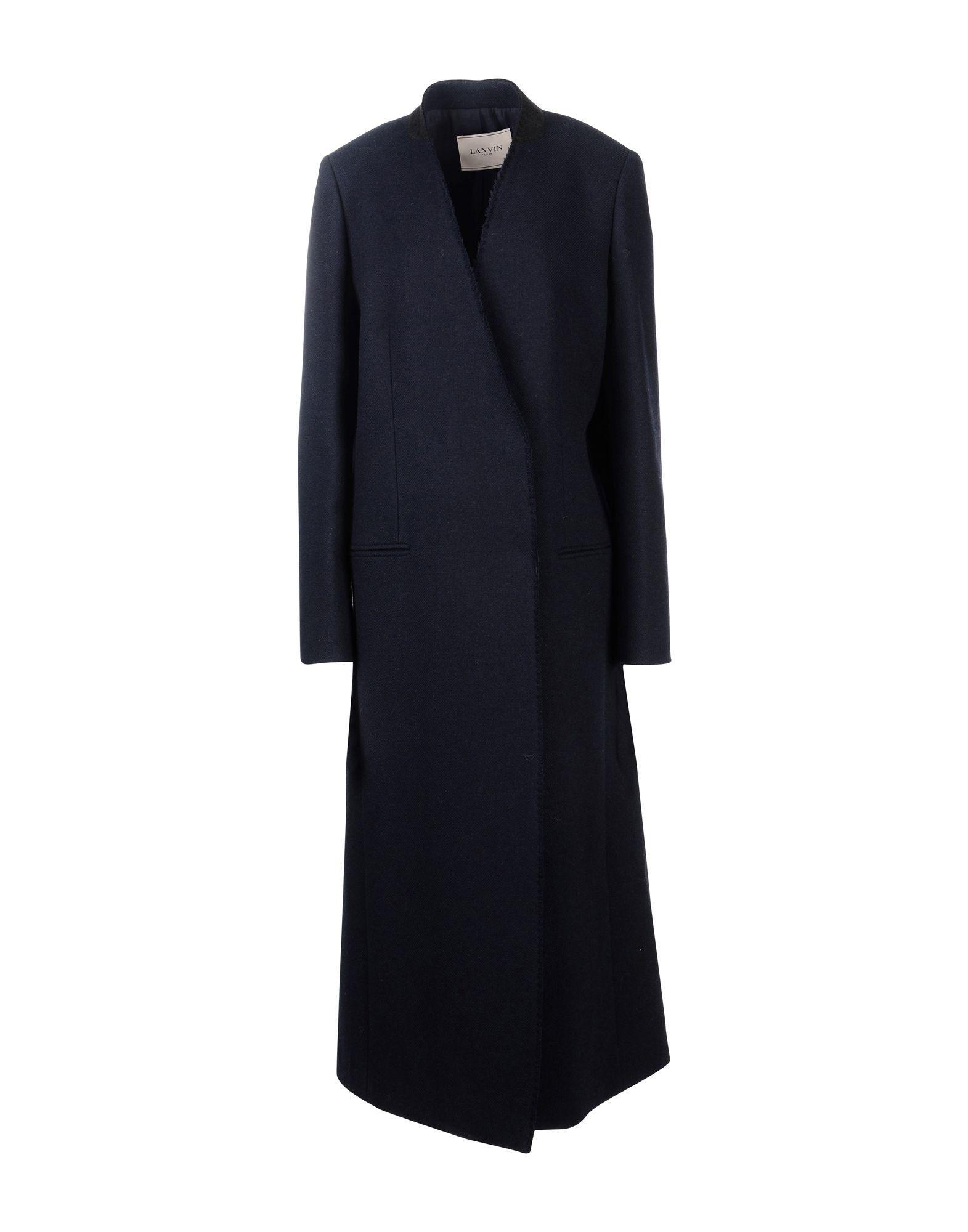 Lanvin Coat In Dark Blue