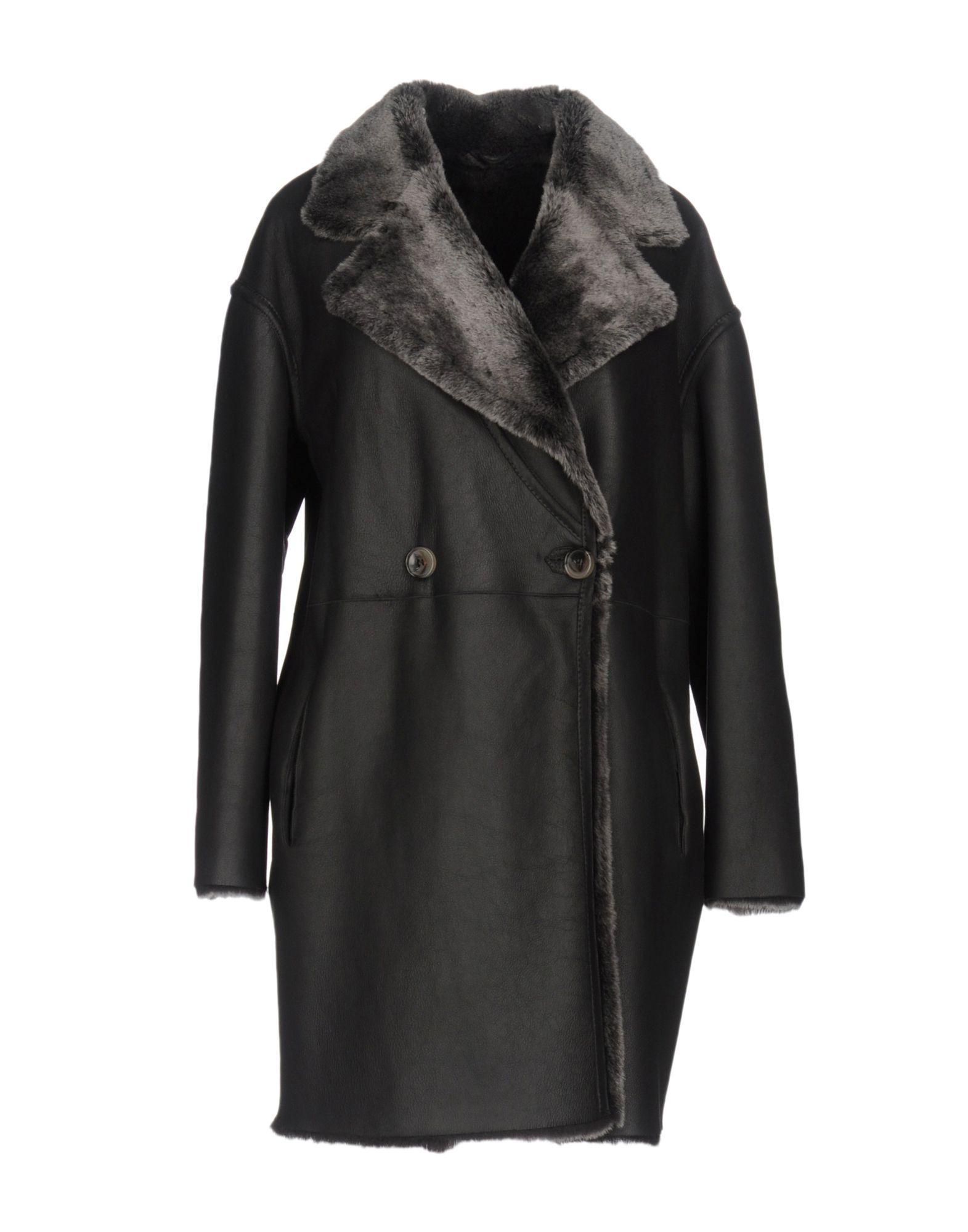 Giorgio Brato Coats In Black