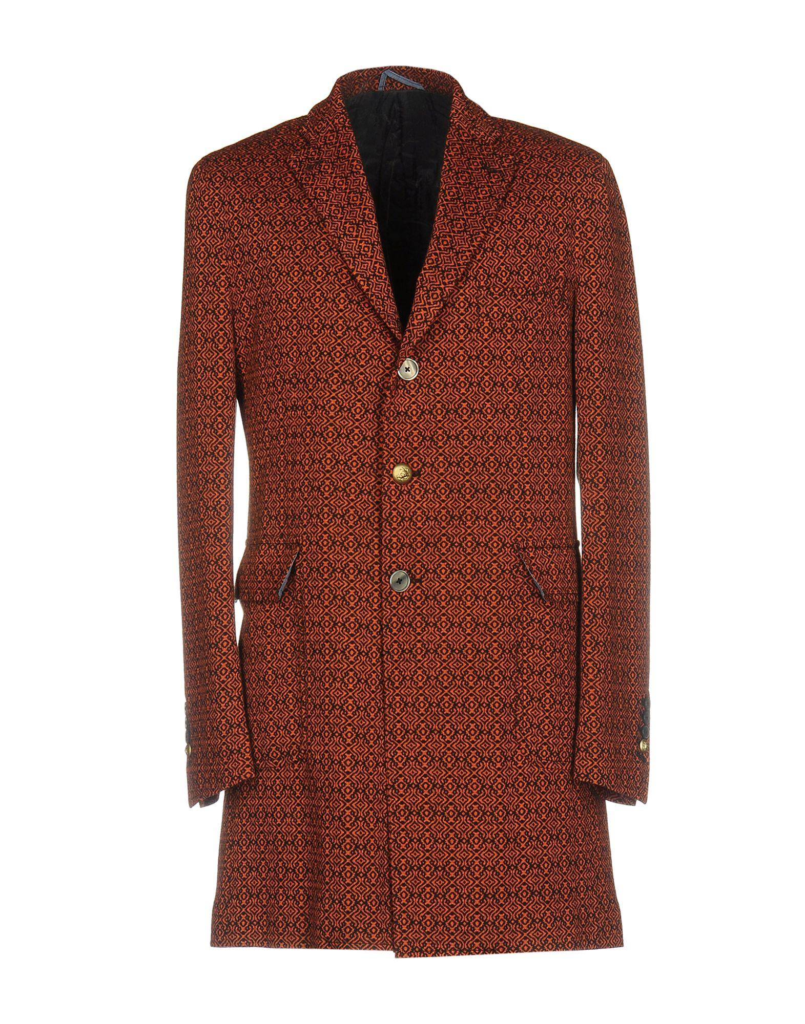 John Sheep Coat In Orange