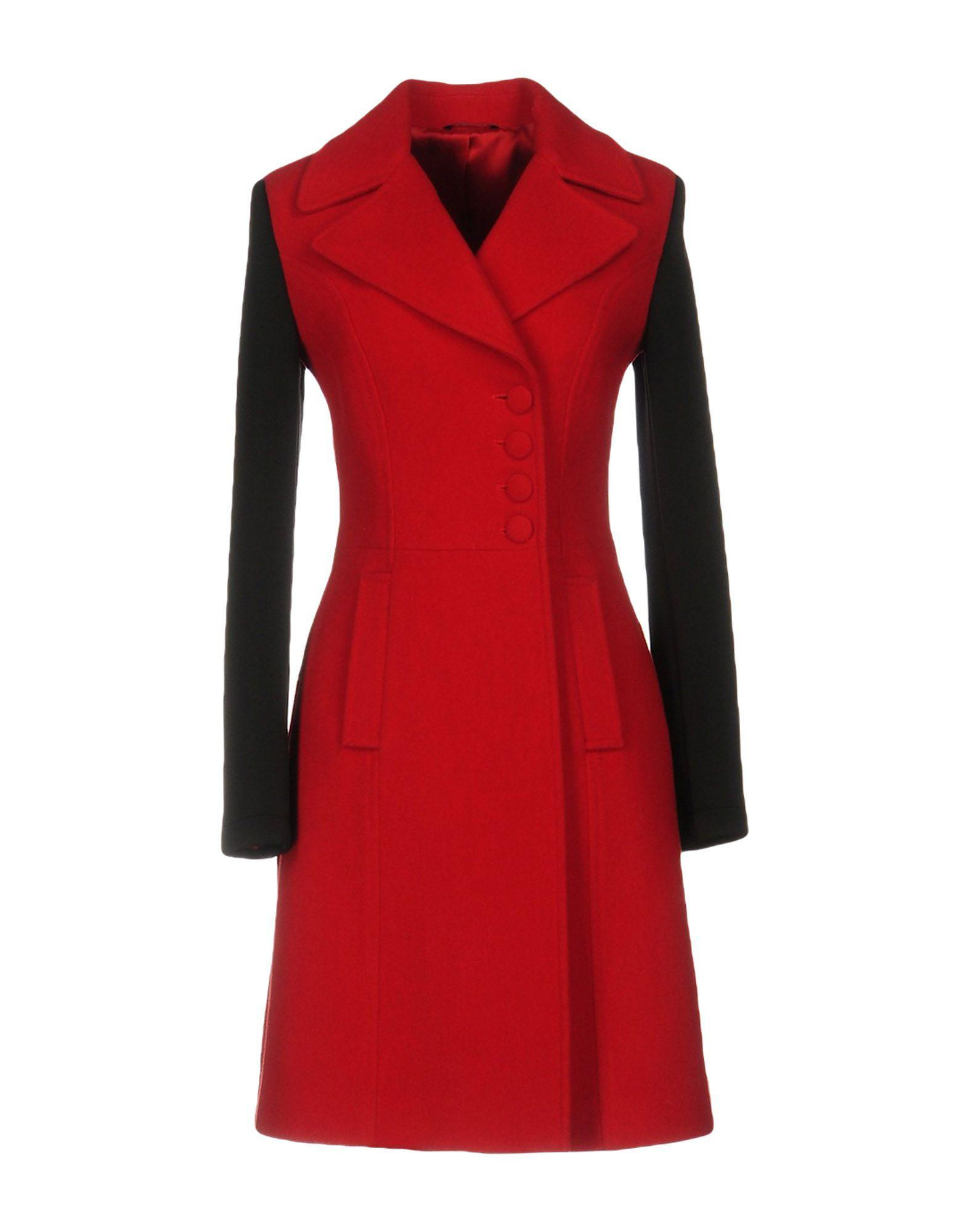 Daniele Alessandrini Coats In Red