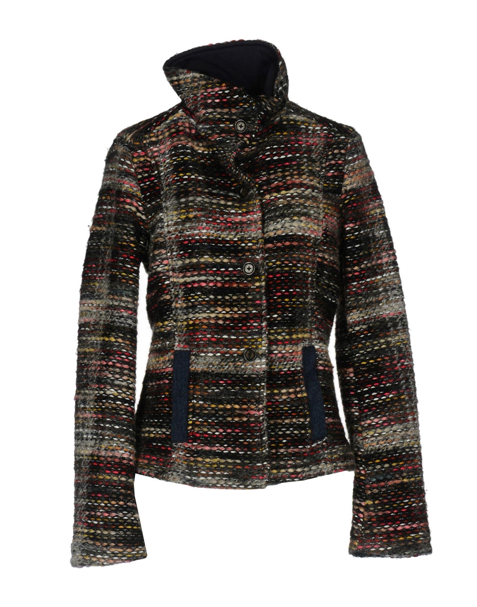 Napapijri Coats In Grey