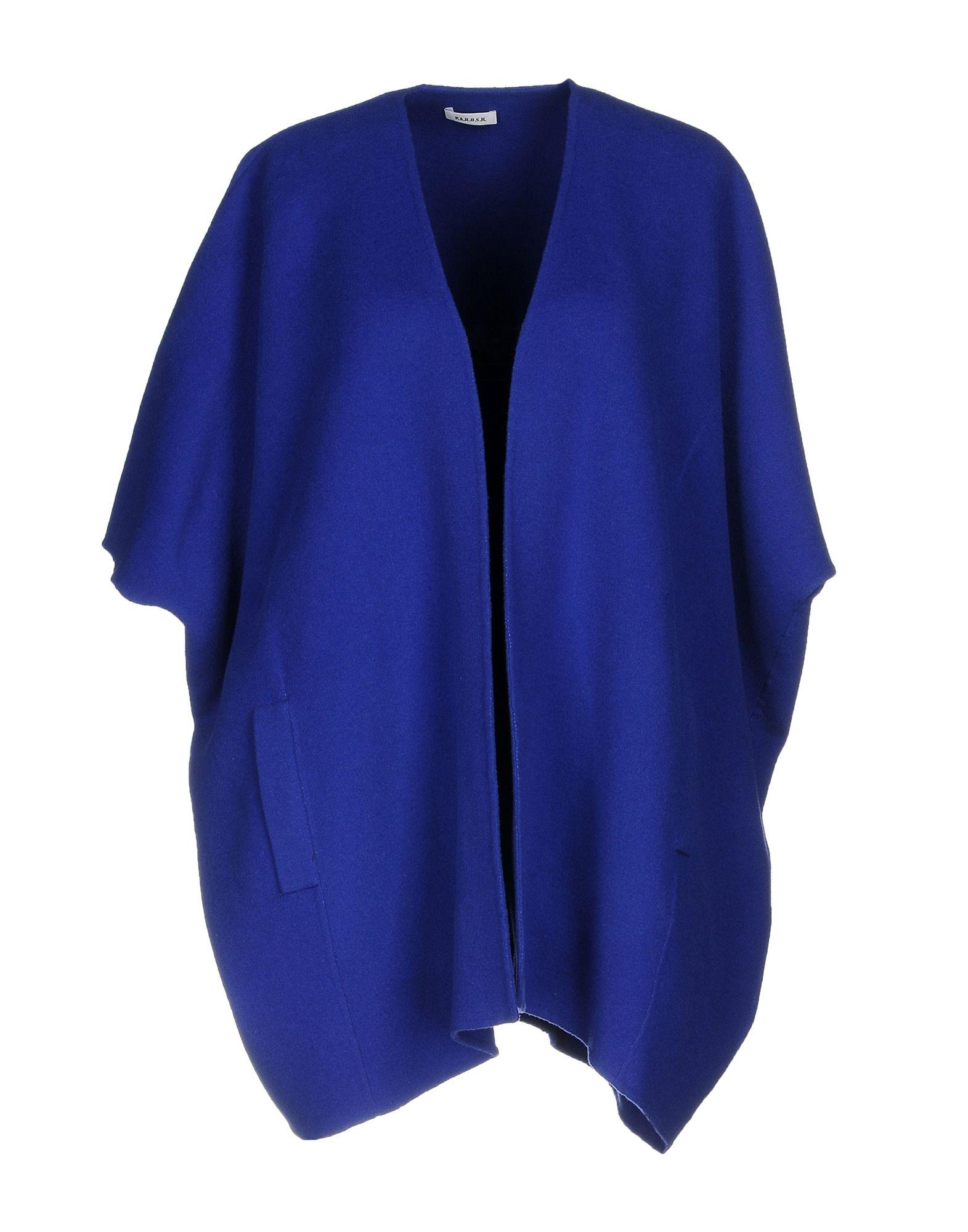 P.a.r.o.s.h. Capes & Ponchos In Blue