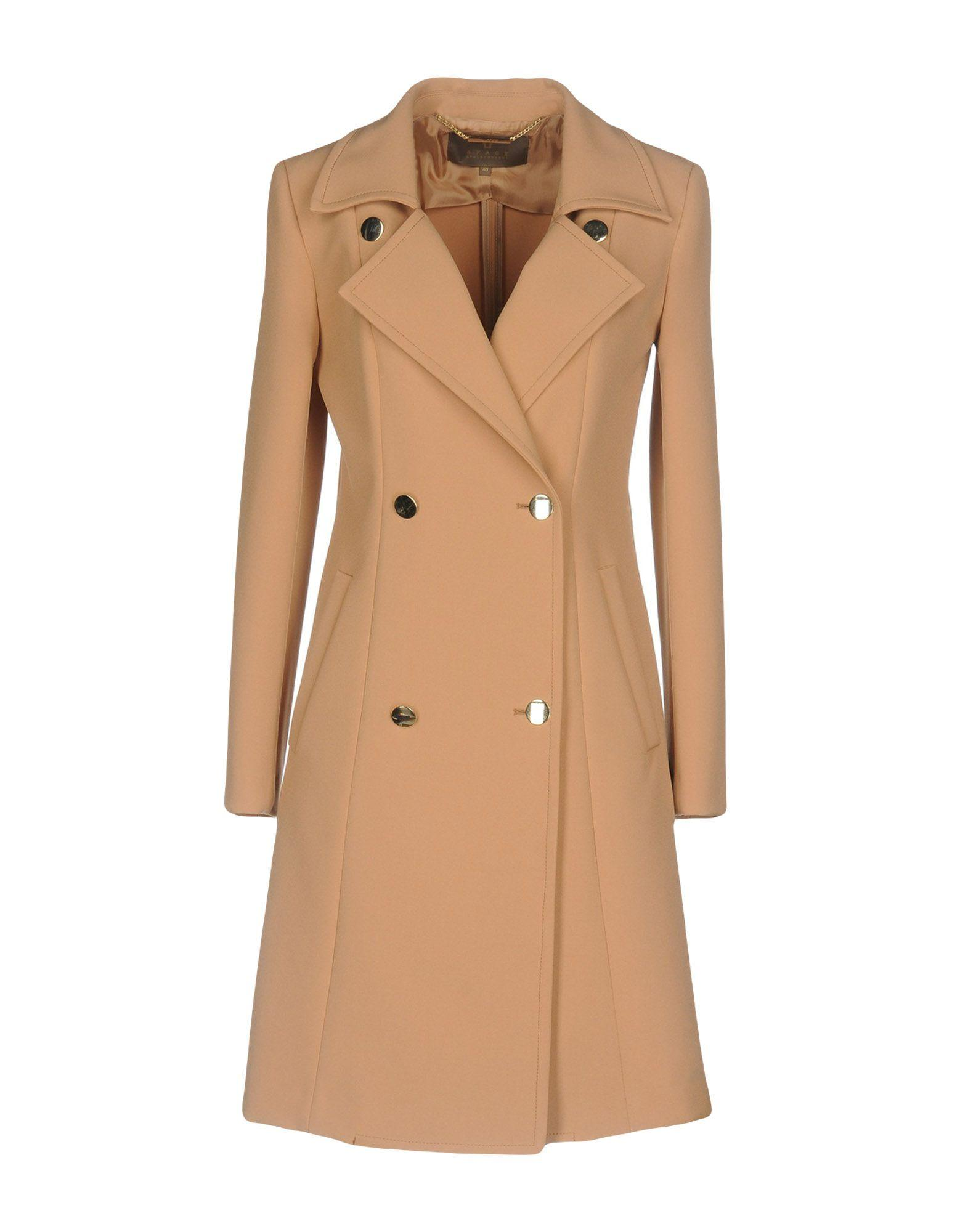 Space Style Concept Coats In Camel