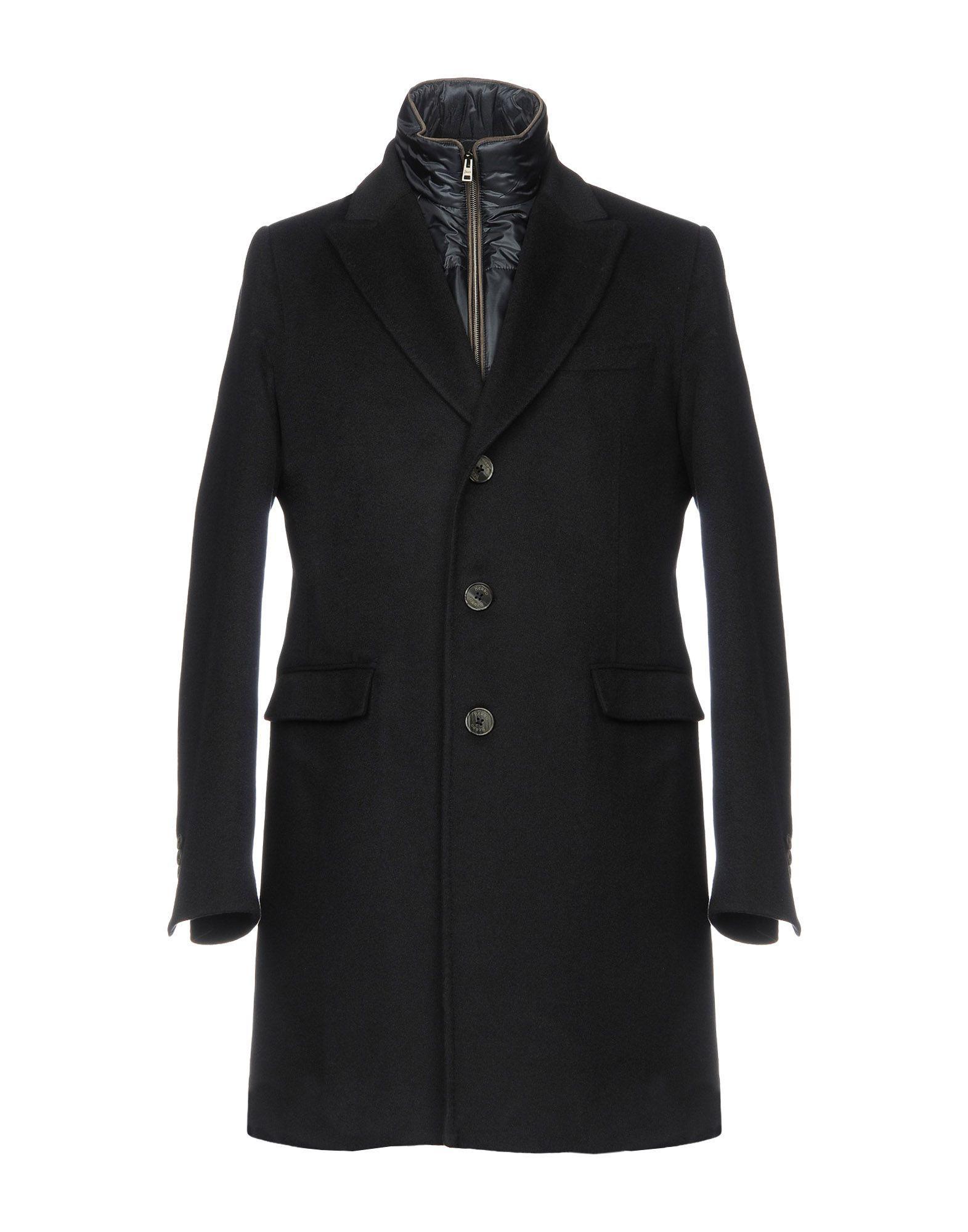 Herno Coats In Dark Blue
