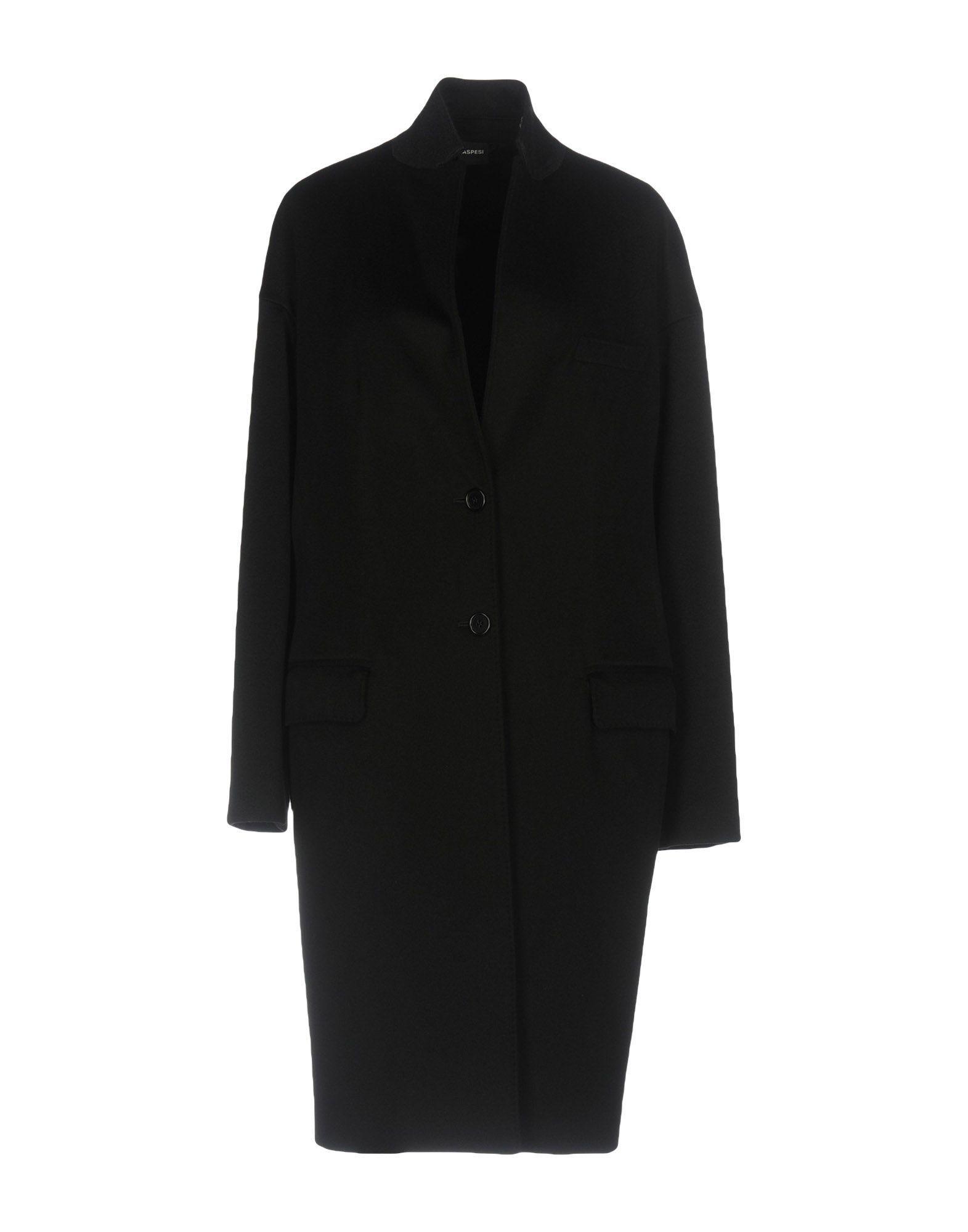 Aspesi Coat In Black