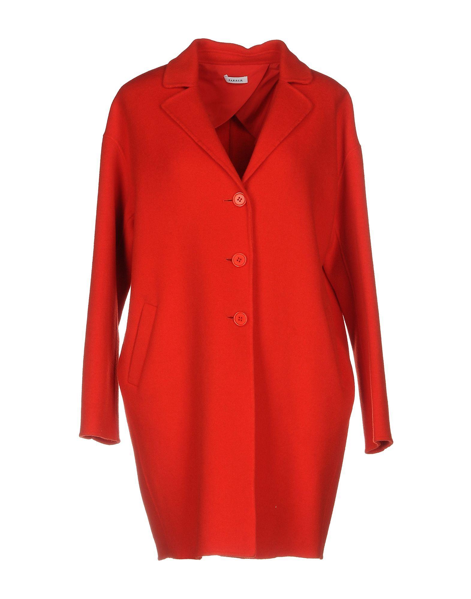 P.a.r.o.s.h. Coat In Red