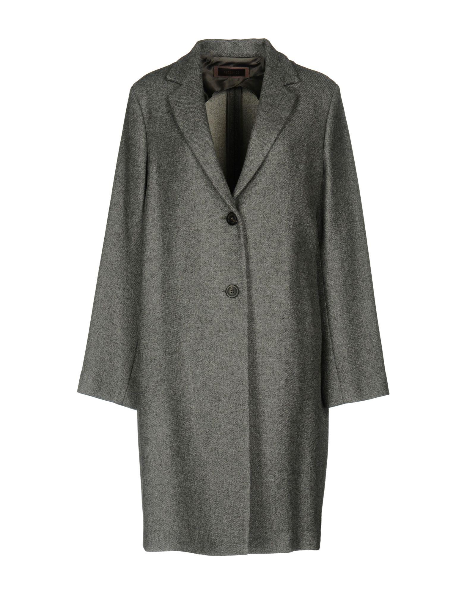 Peserico Coat In Grey
