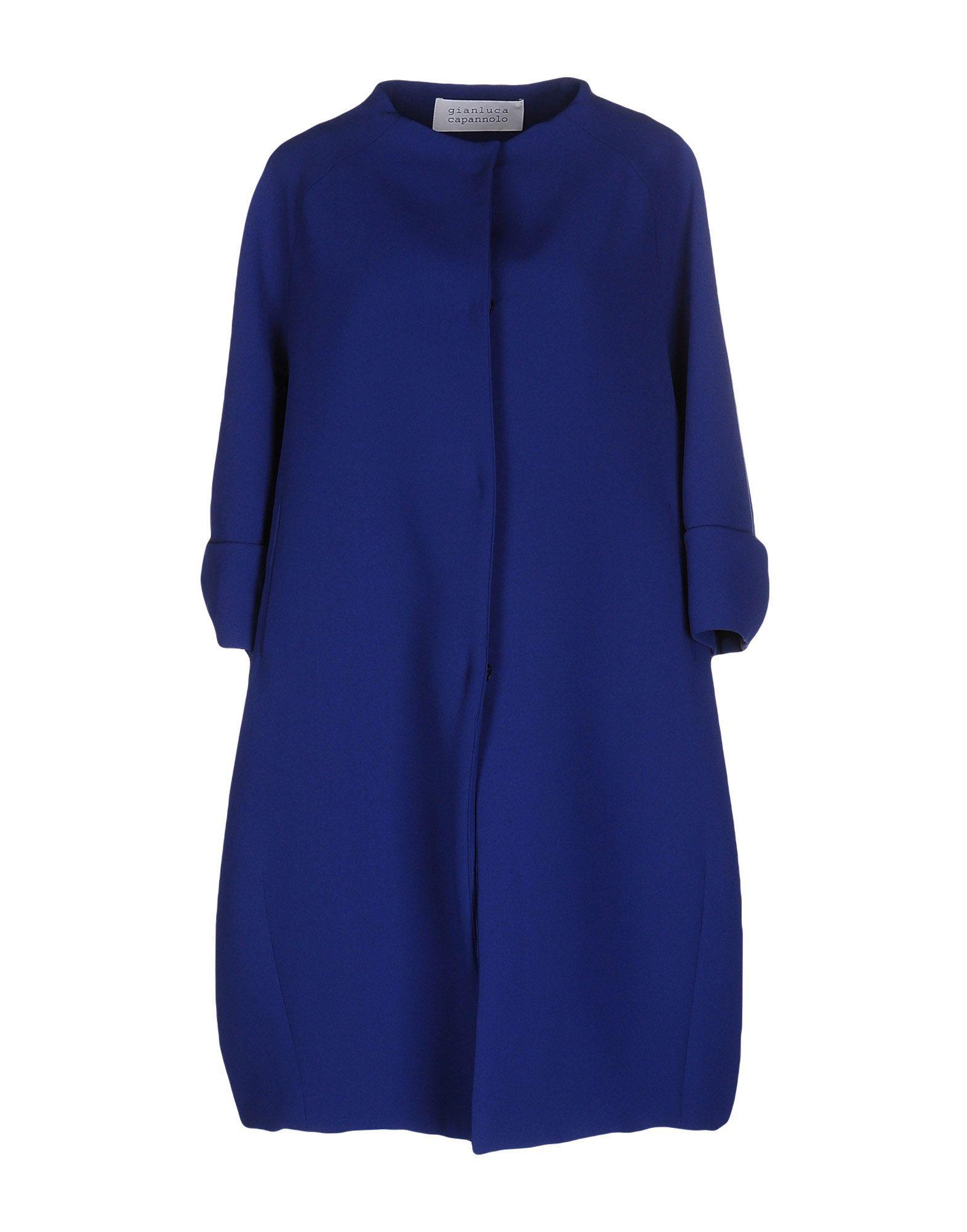 Gianluca Capannolo Coat In Blue