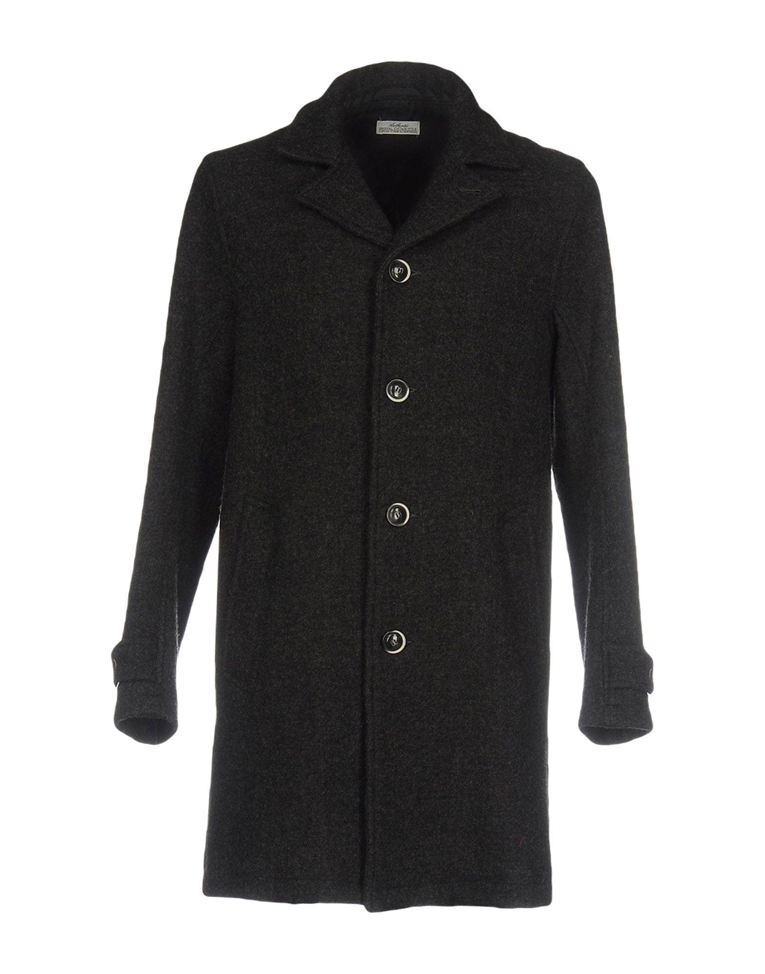 Authentic Original Vintage Style Coats In Steel Grey