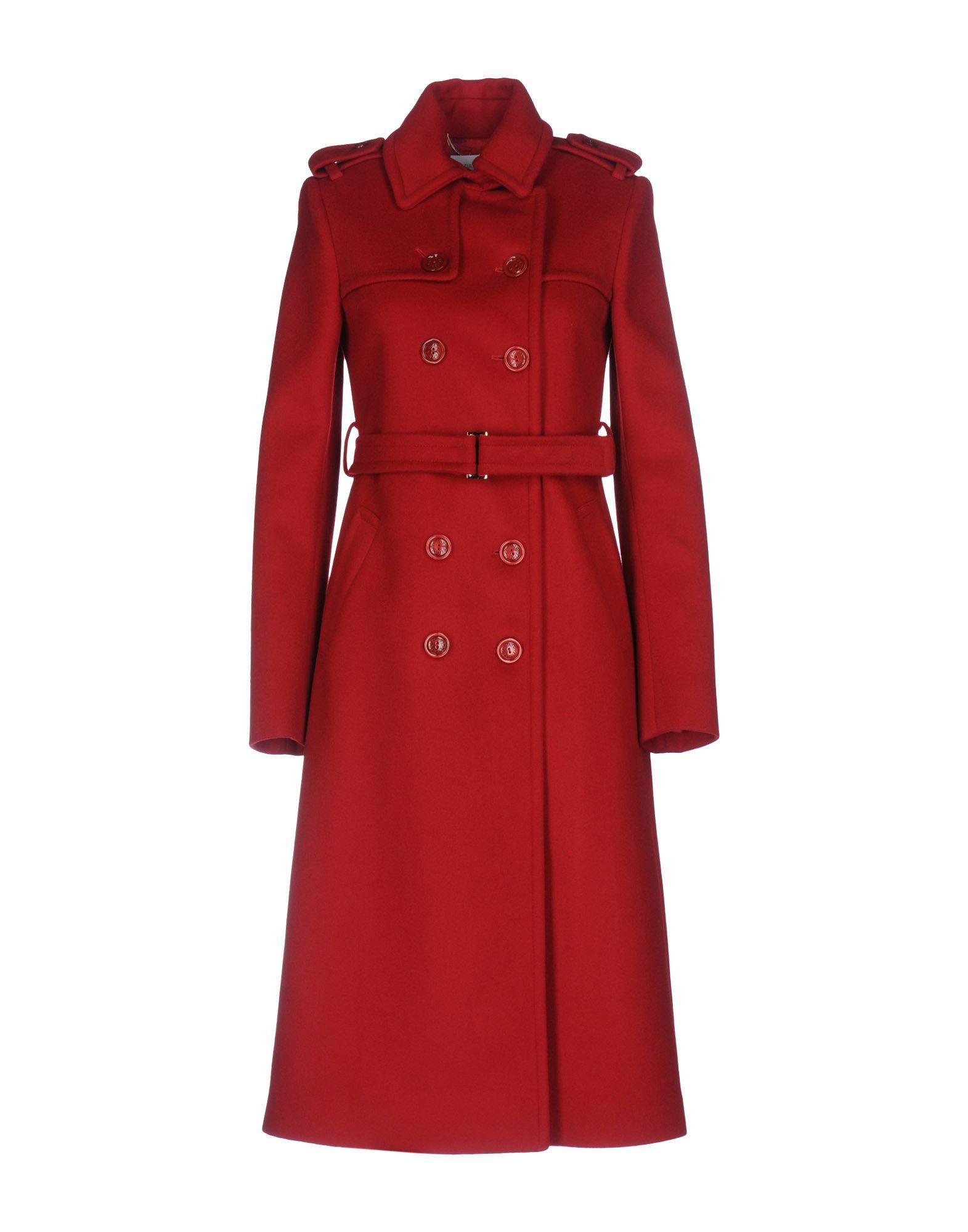 Patrizia Pepe Coats In Red