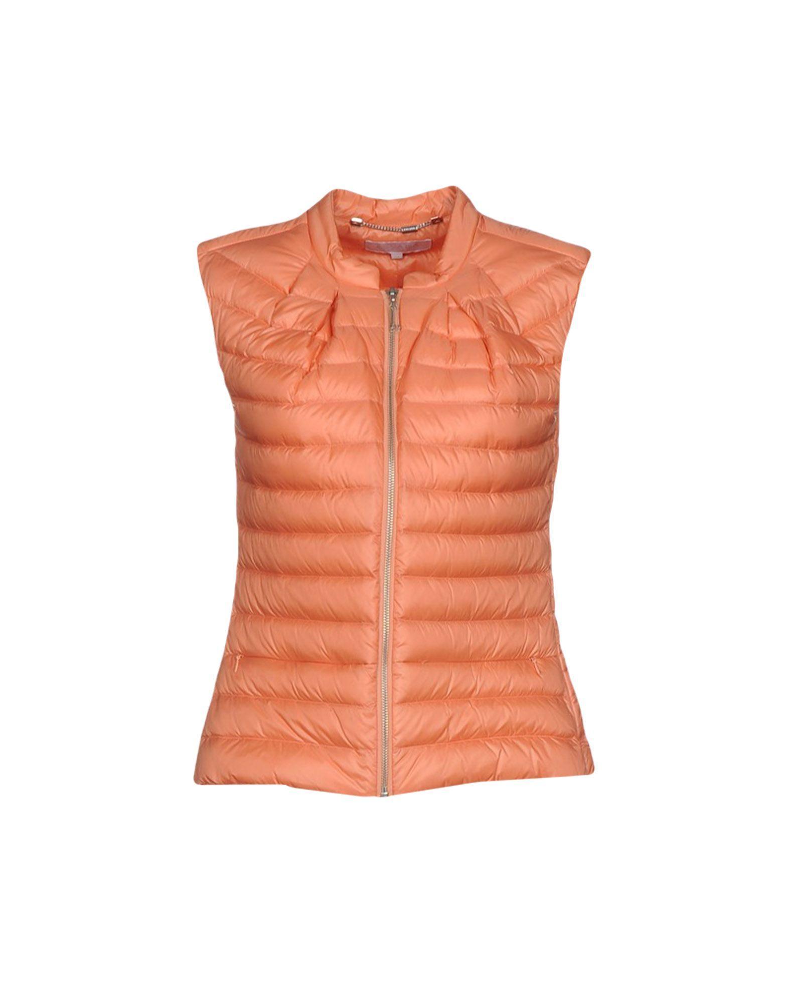 Escada Sport Down Jacket In Salmon Pink