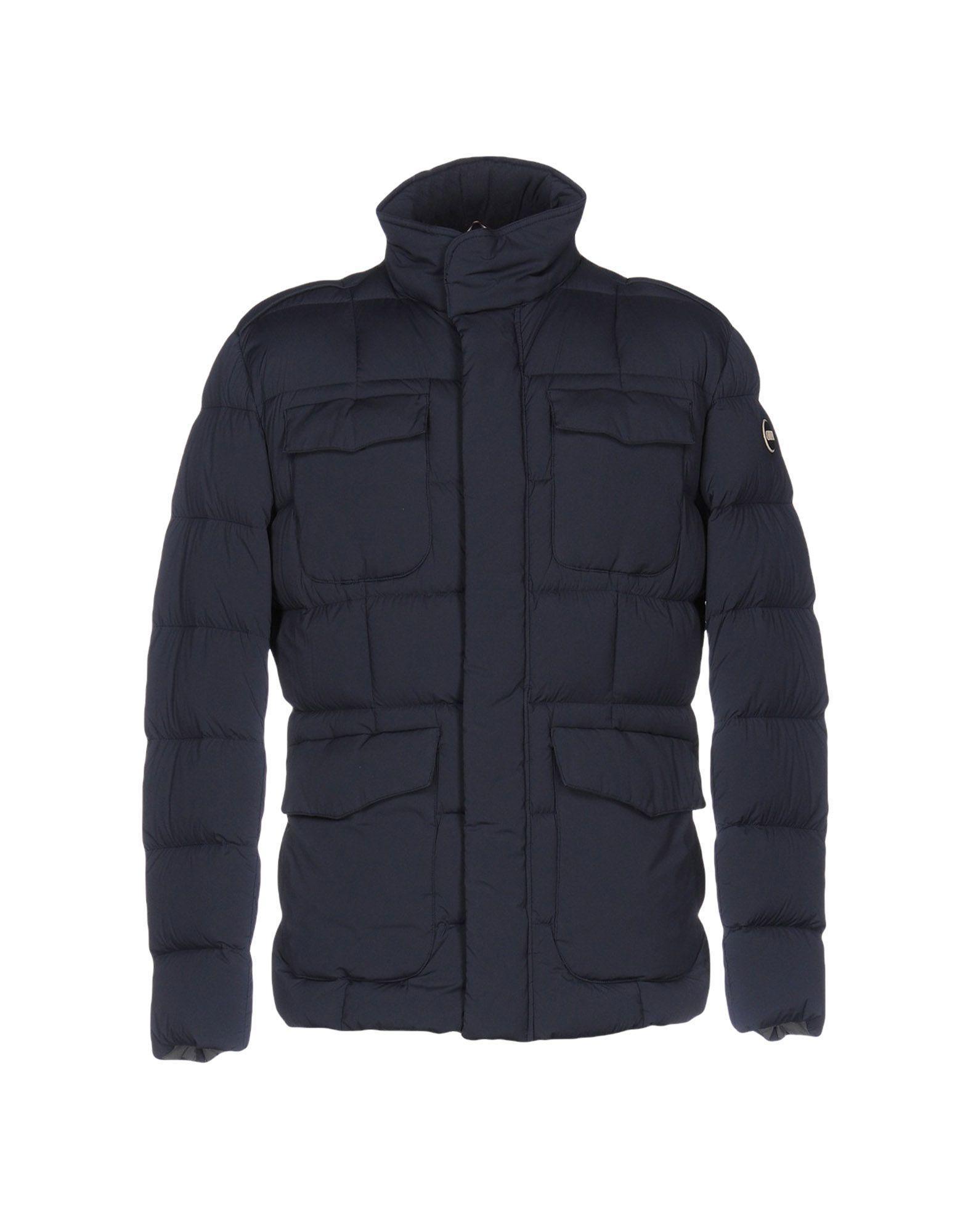 Colmar Down Jackets In Dark Blue