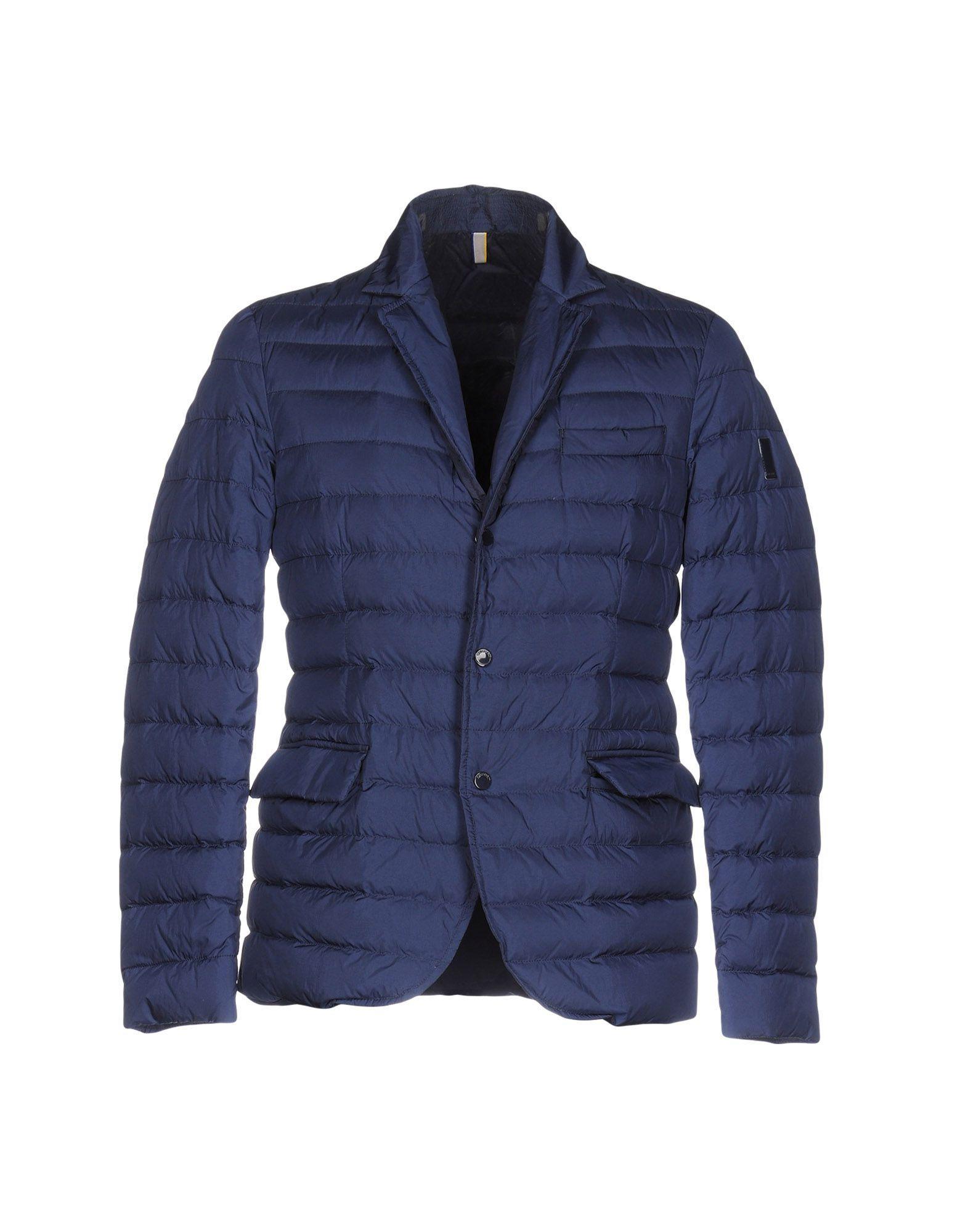 Geospirit Down Jackets In Dark Blue
