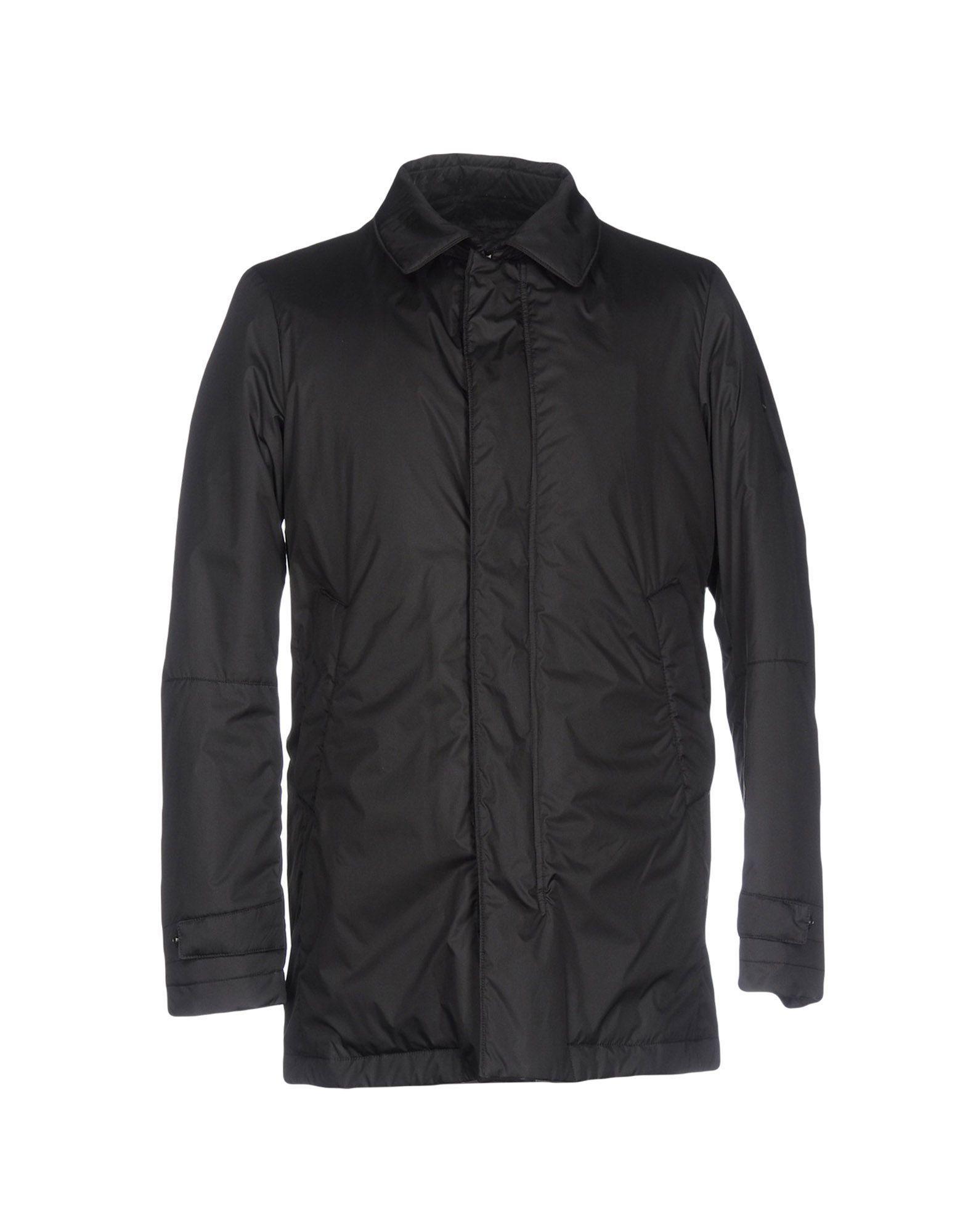 Geospirit Down Jacket In Black