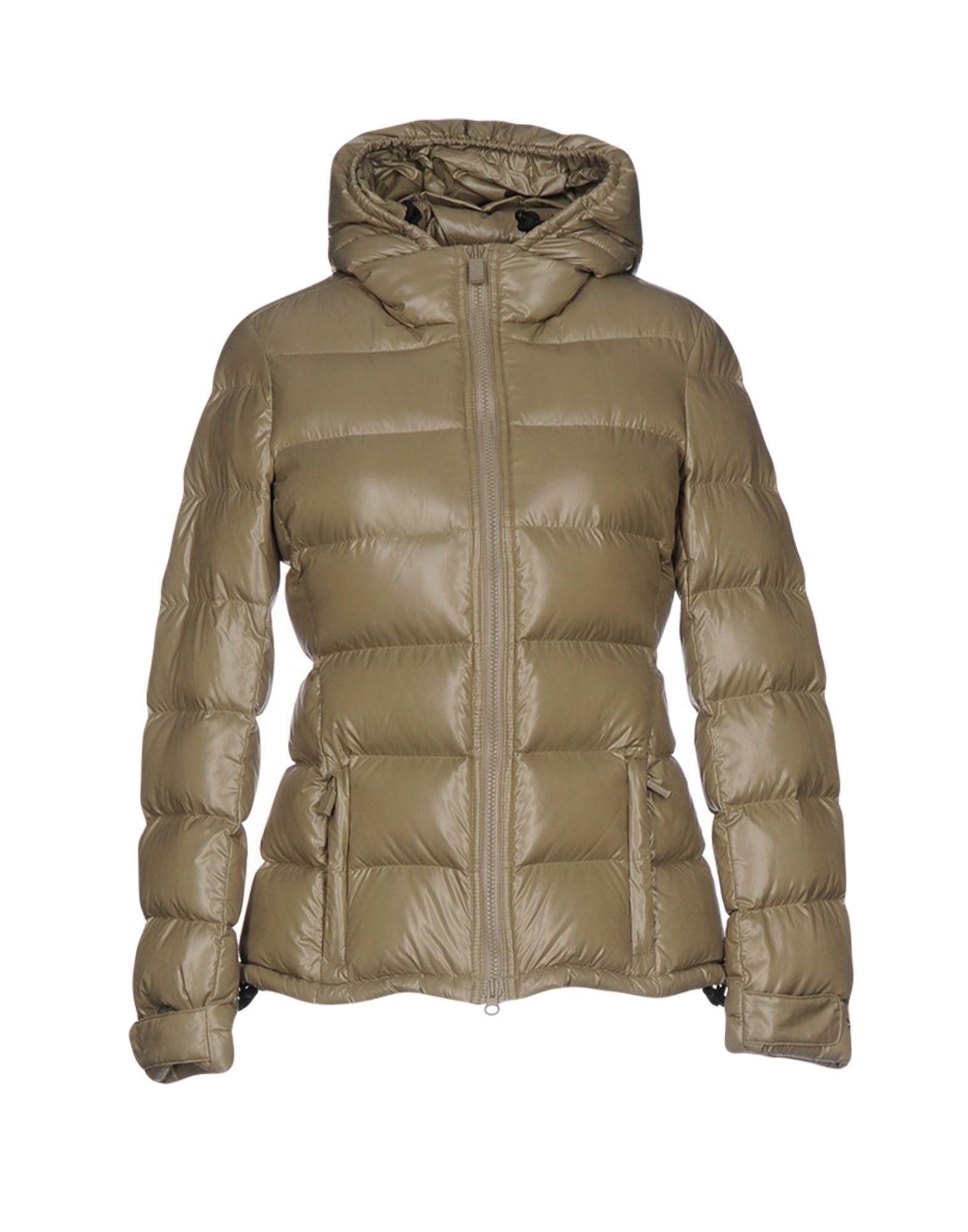 Aspesi Down Jacket In Khaki