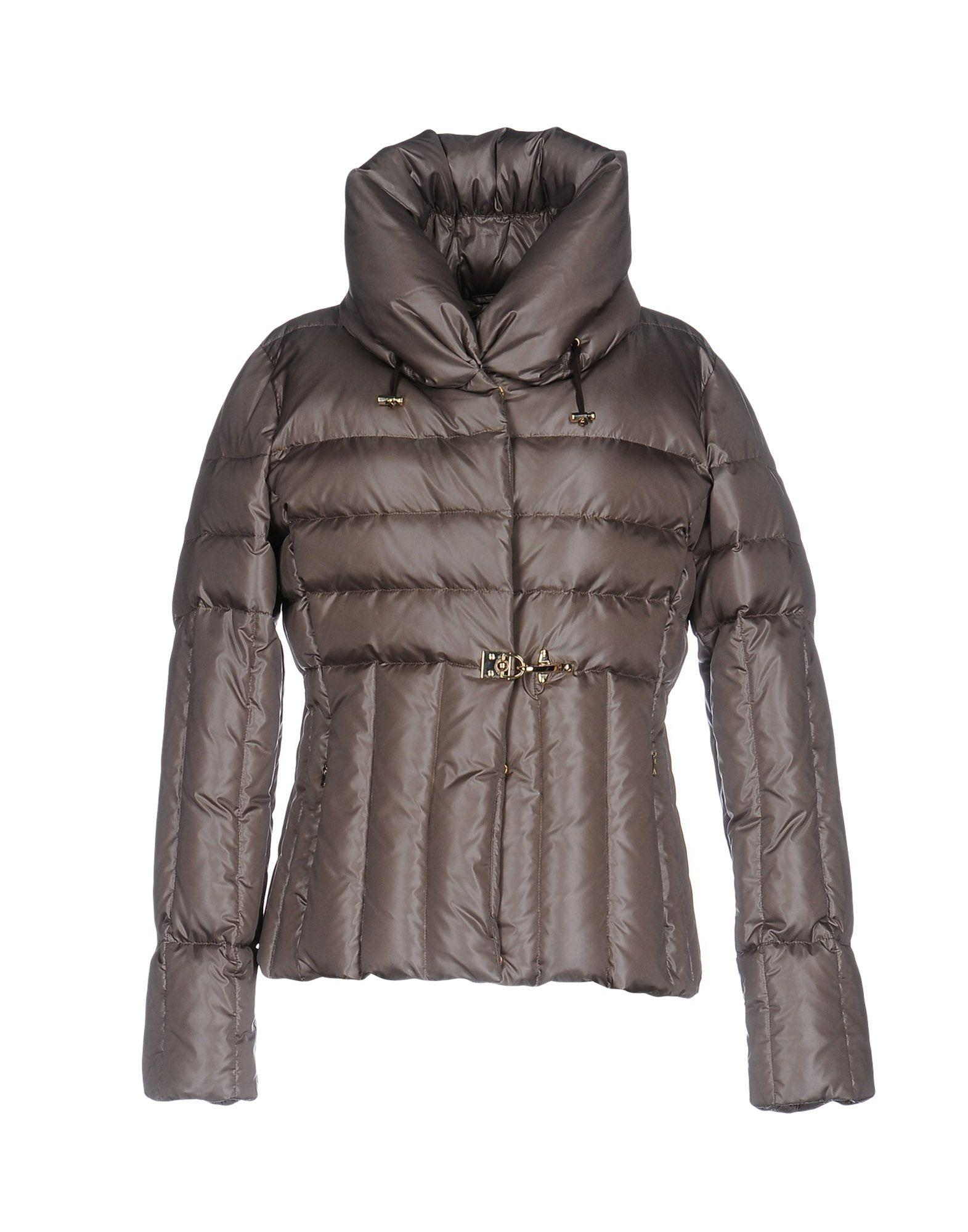 Fay Down Jackets In Grey