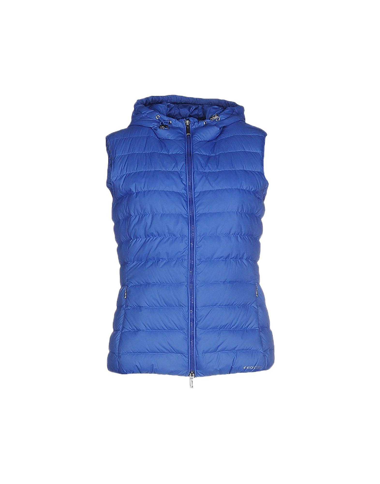 Geox Down Jackets In Blue