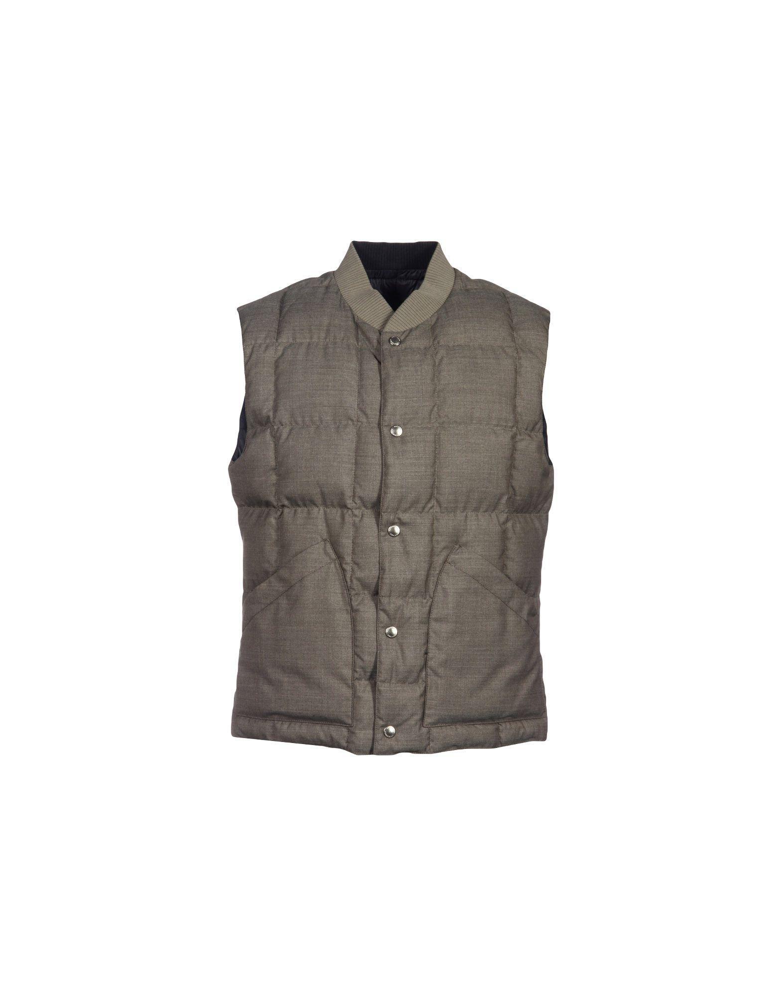 Brunello Cucinelli Down Jackets In Dove Grey