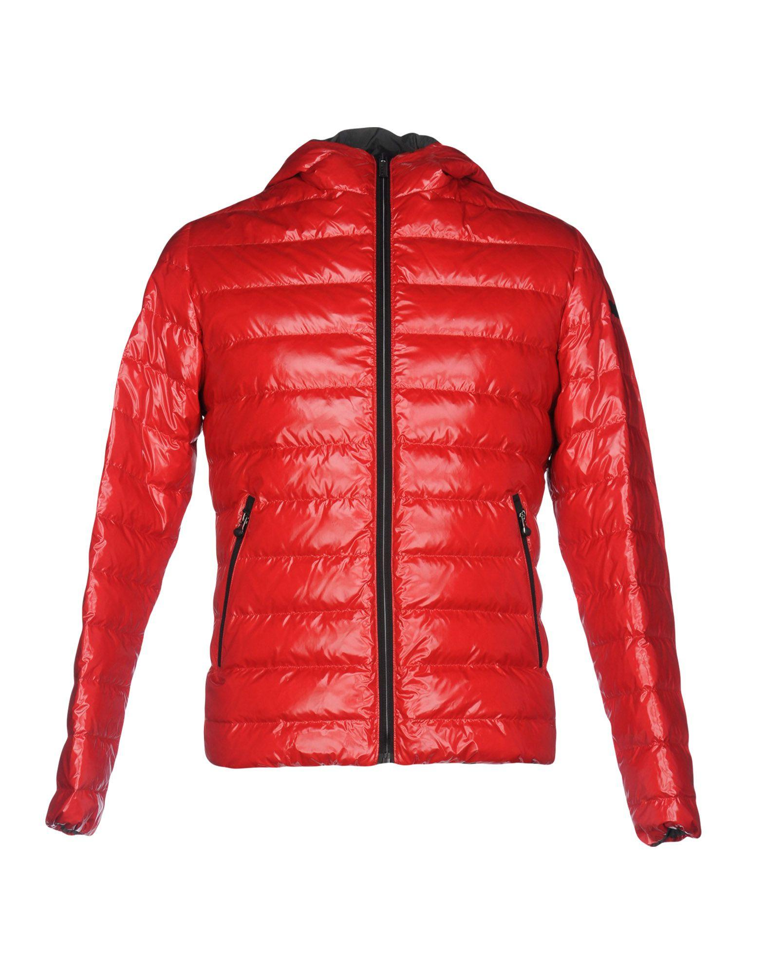 Rrd Down Jacket In Red