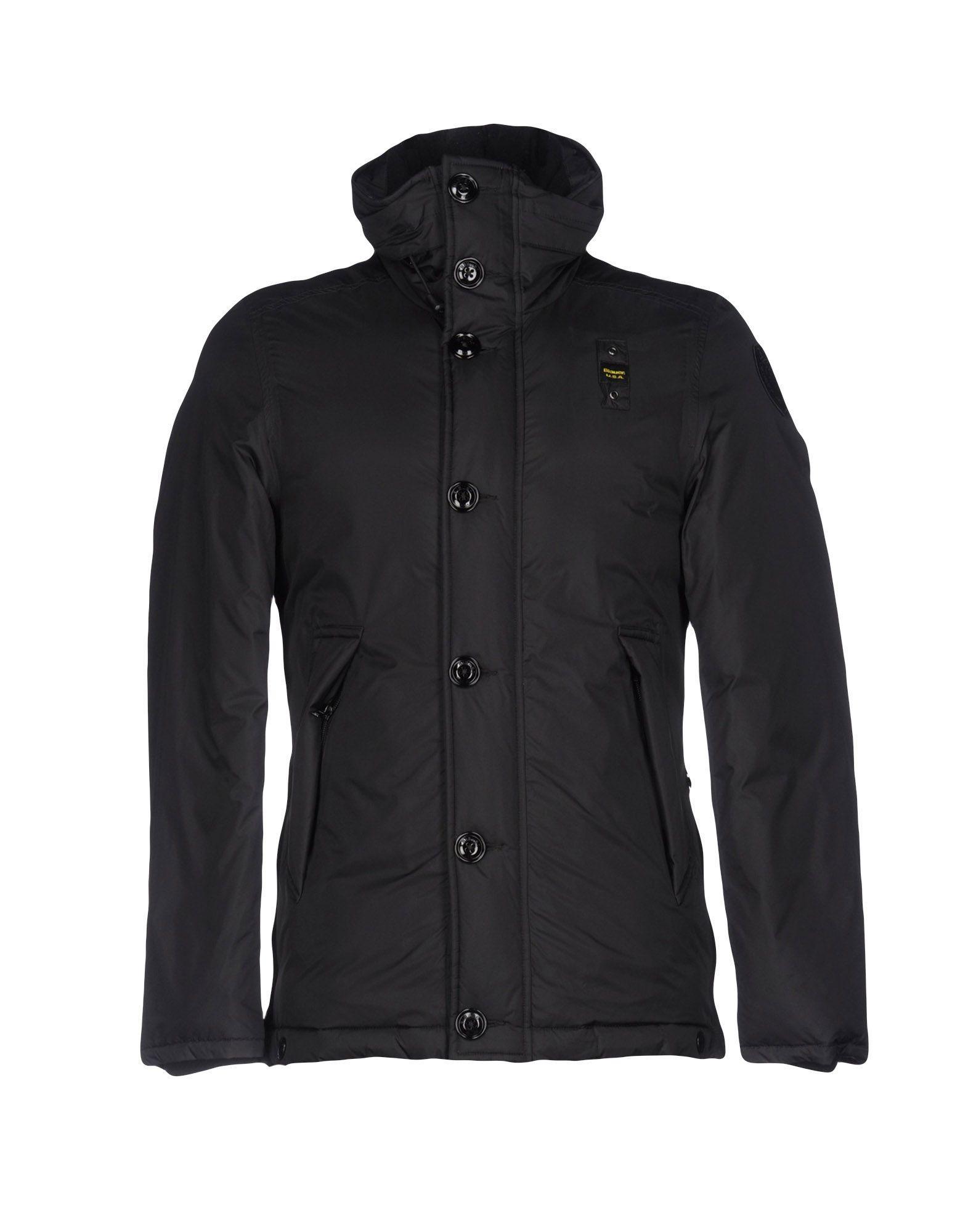 Blauer Down Jackets In Black