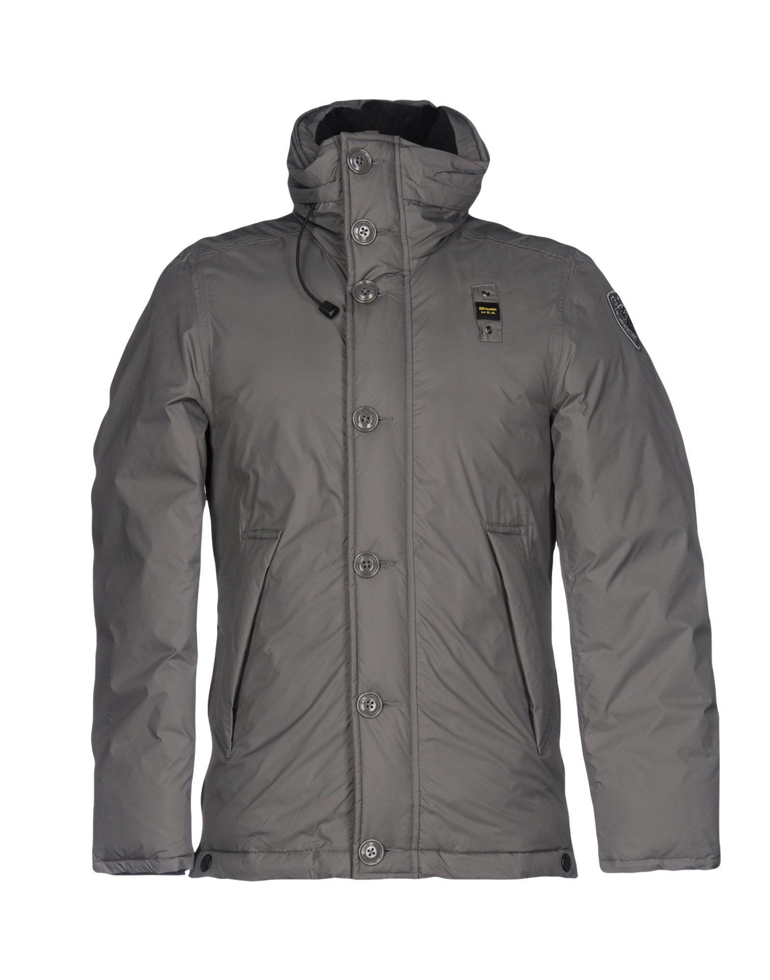 Blauer Down Jackets In Grey