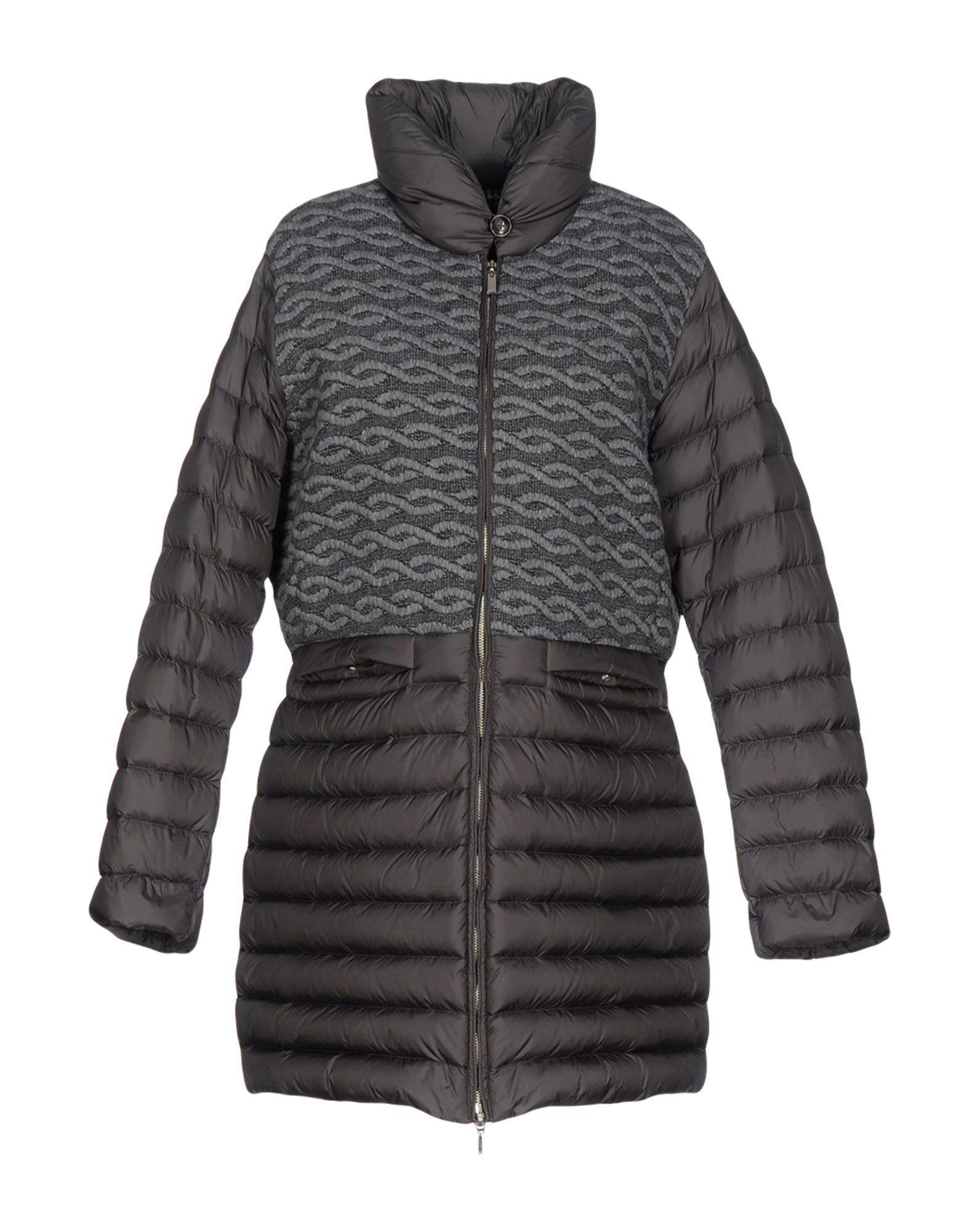 Geox Down Jackets In Grey