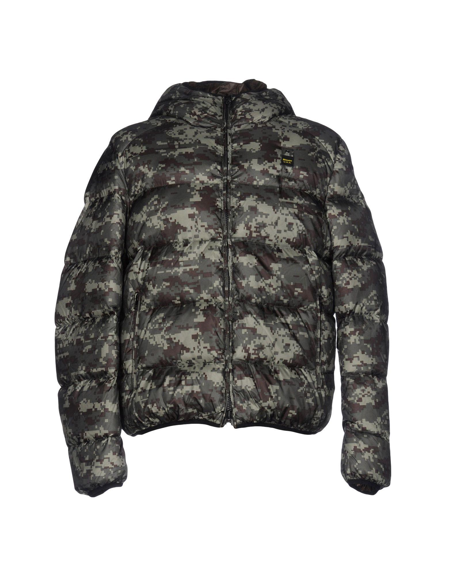 Blauer Down Jackets In Military Green