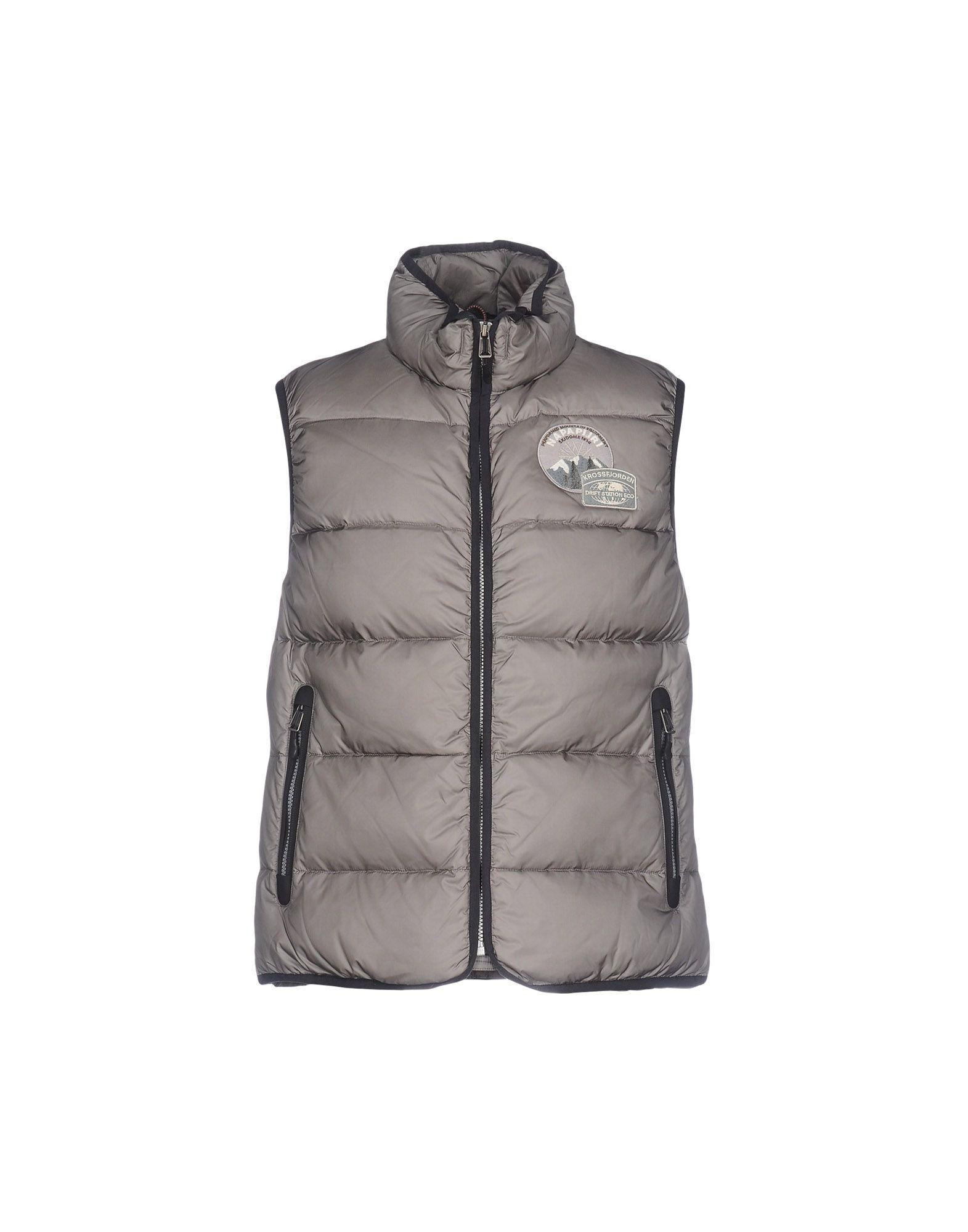Napapijri Down Jacket In Grey